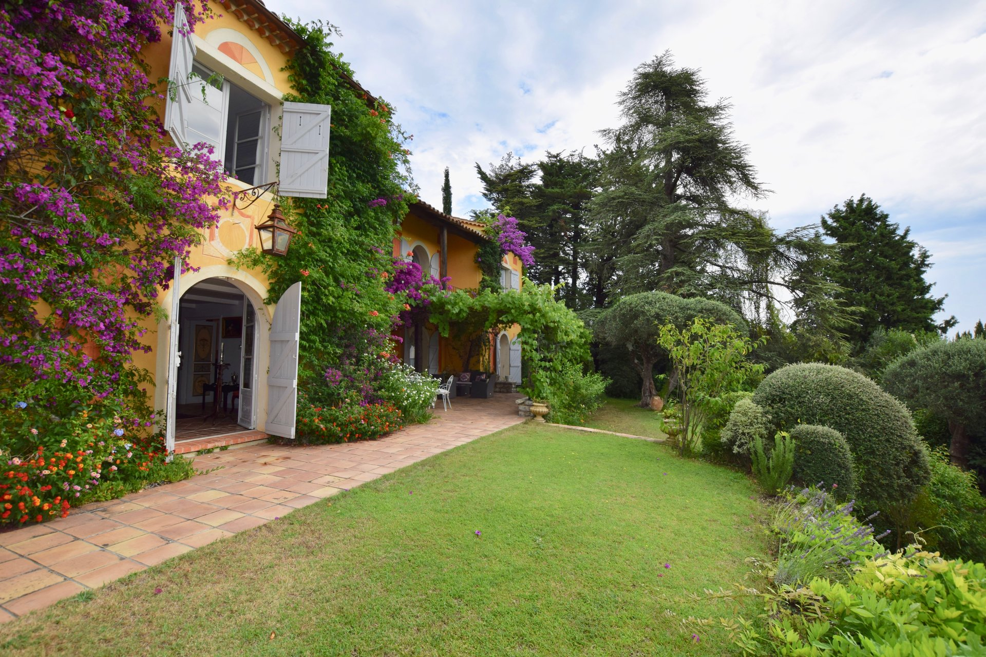 Seasonal rental House - Châteauneuf-Grasse