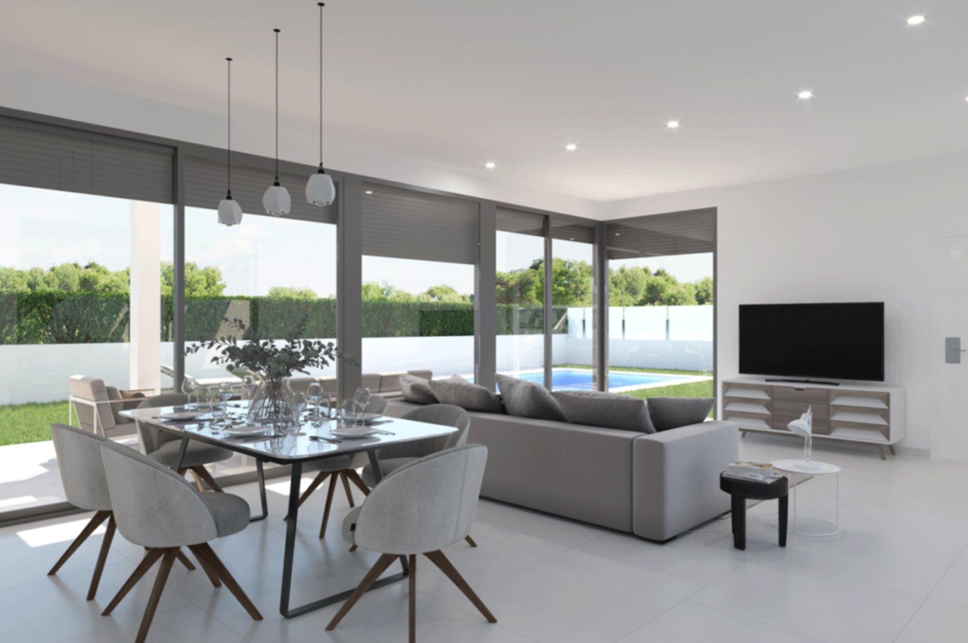 Exclusief wooncomplex met luxe villa's