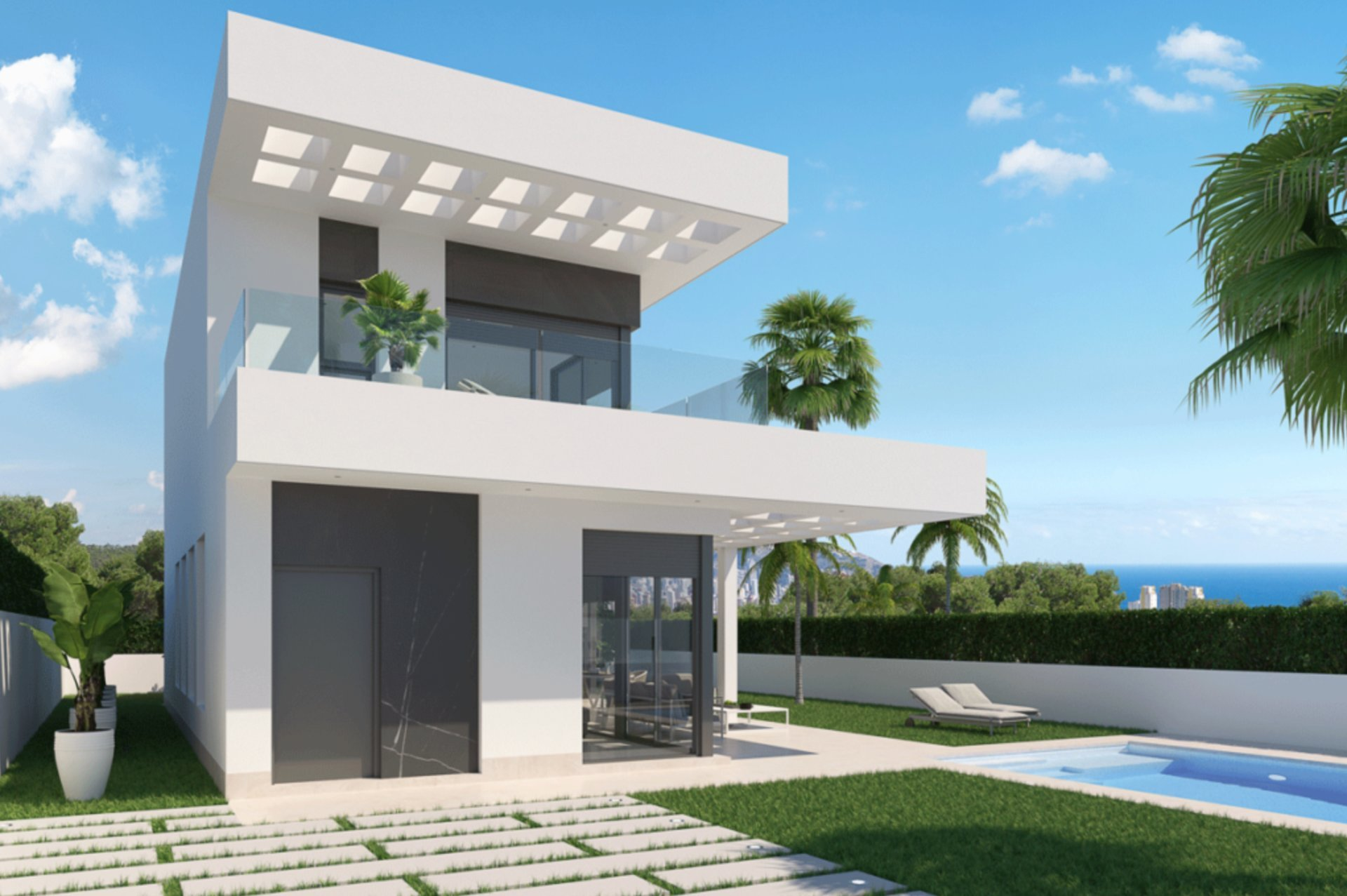 Exclusive residential complex with luxury villas