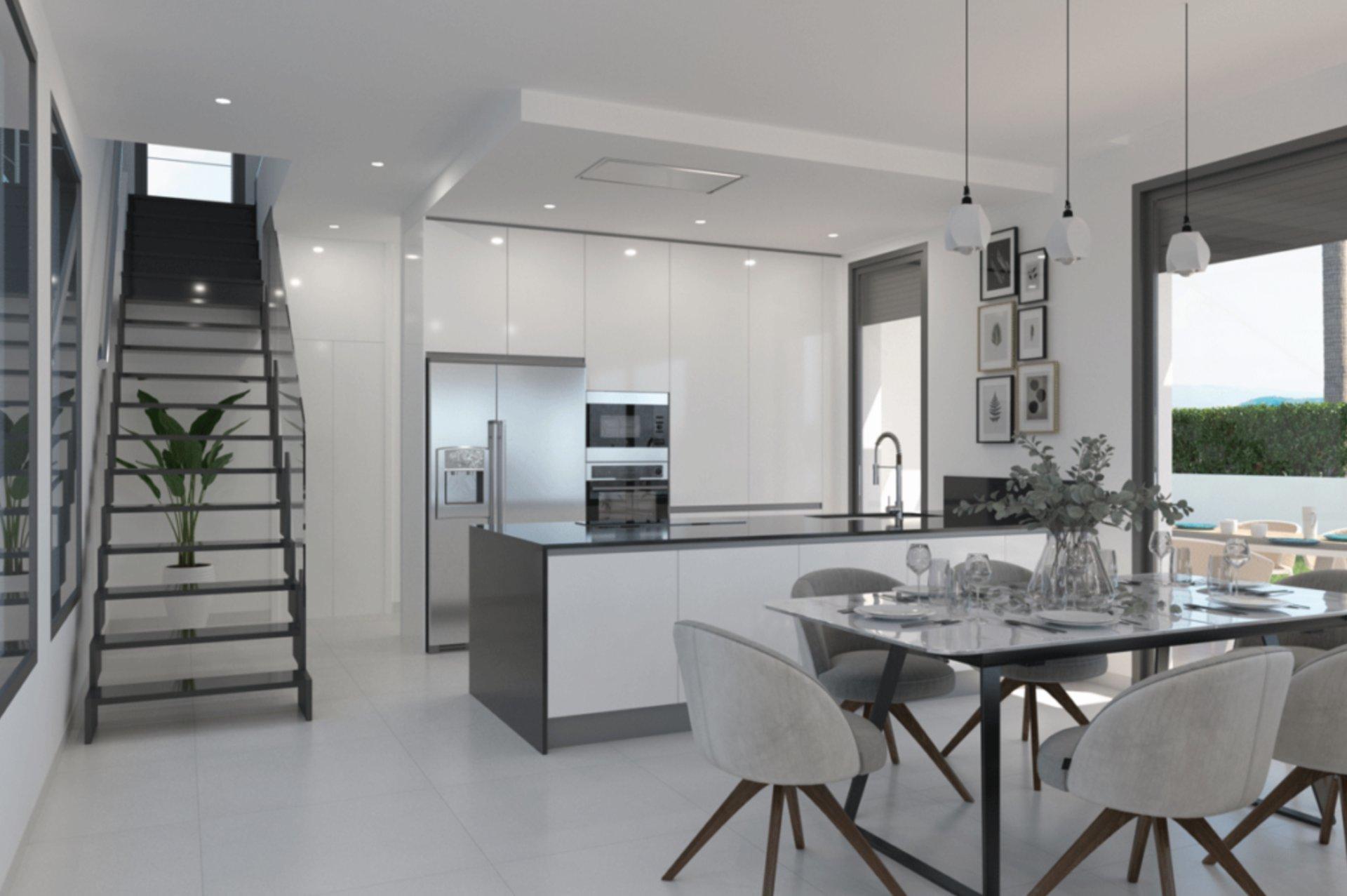 Complexe résidentiel exclusif avec villas de luxe