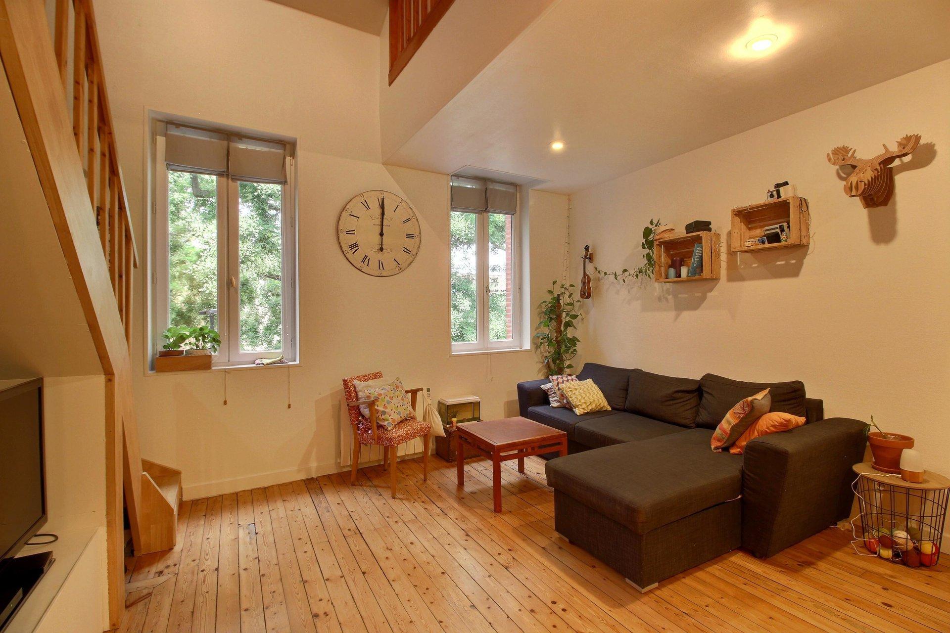 Bas de la Côte Pavée, T3 en duplex de 71 m²