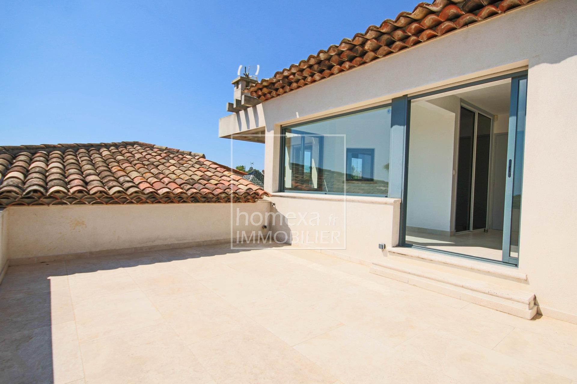 Vente Villa contemporaine Antibes vue mer