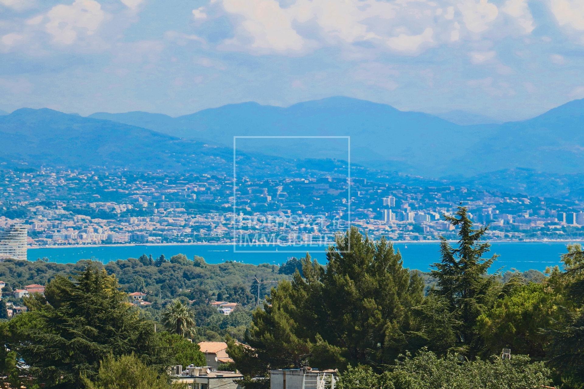 Villa Antibes constance à vendre :  vue mer