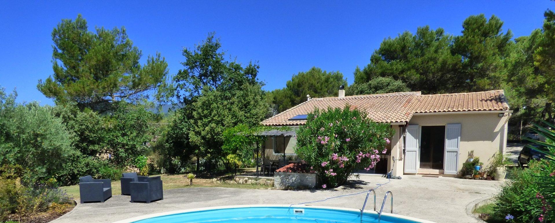 Villa plain-pied de 3 chambres, Luberon !!