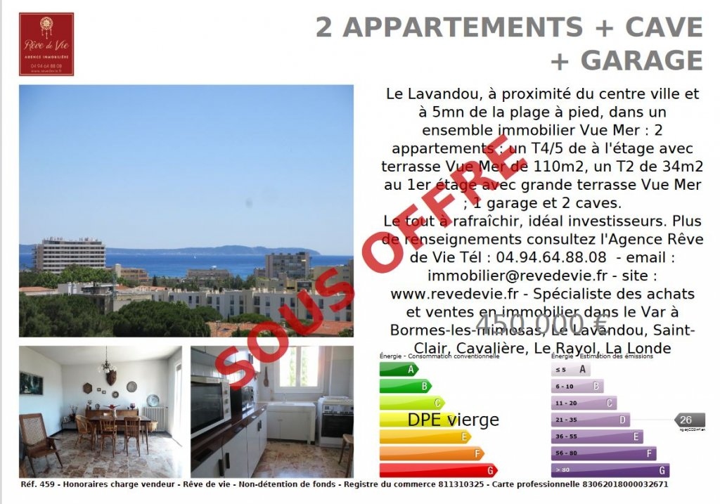 Sale Apartment Le Lavandou