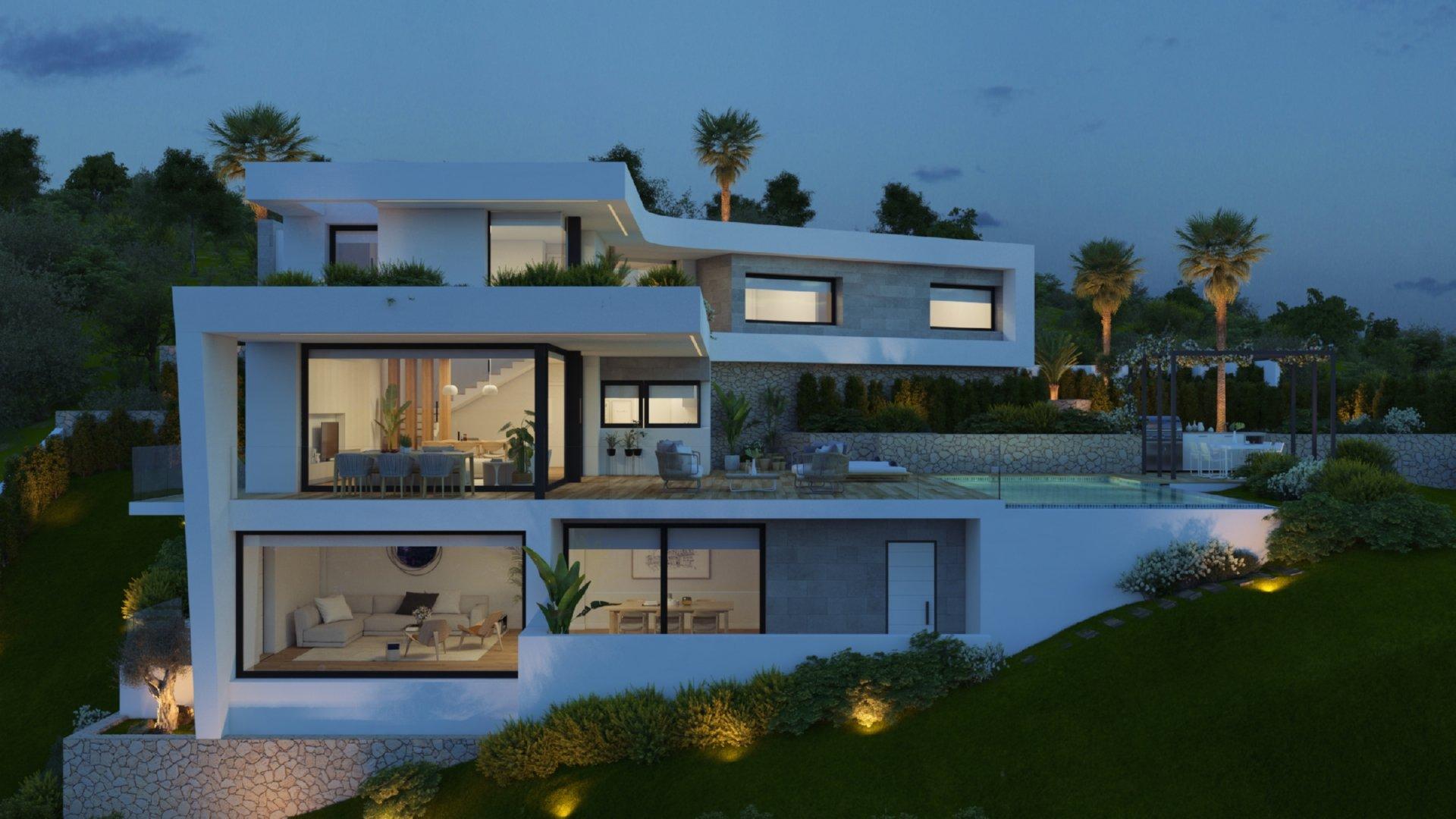 Unique villa with nice views close to amenities