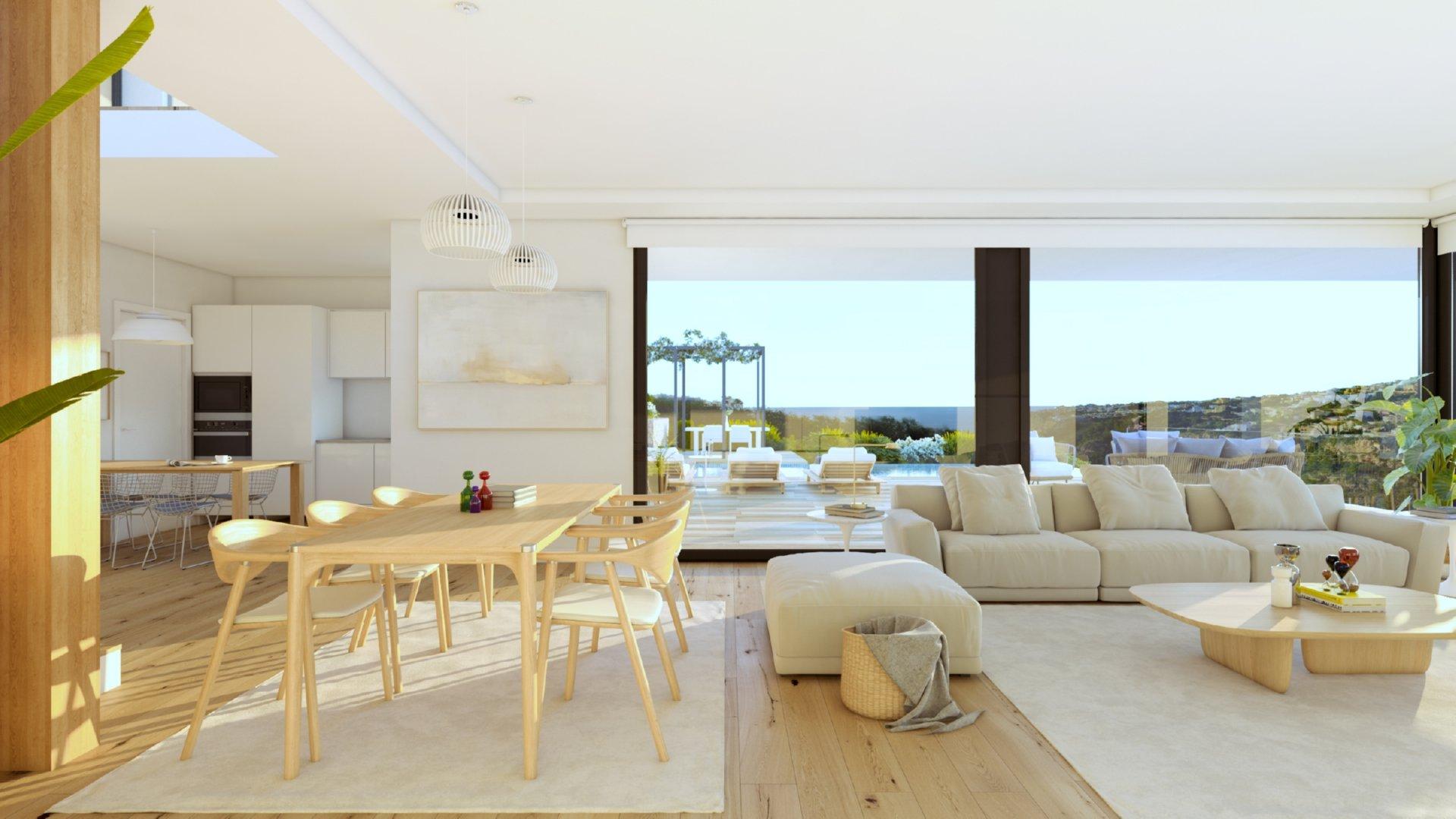 Villa unique avec belle vue proche des commodités