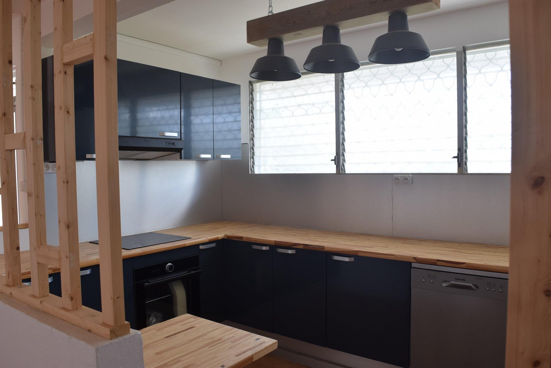 Loue Appartement F4, Rivière-Salée