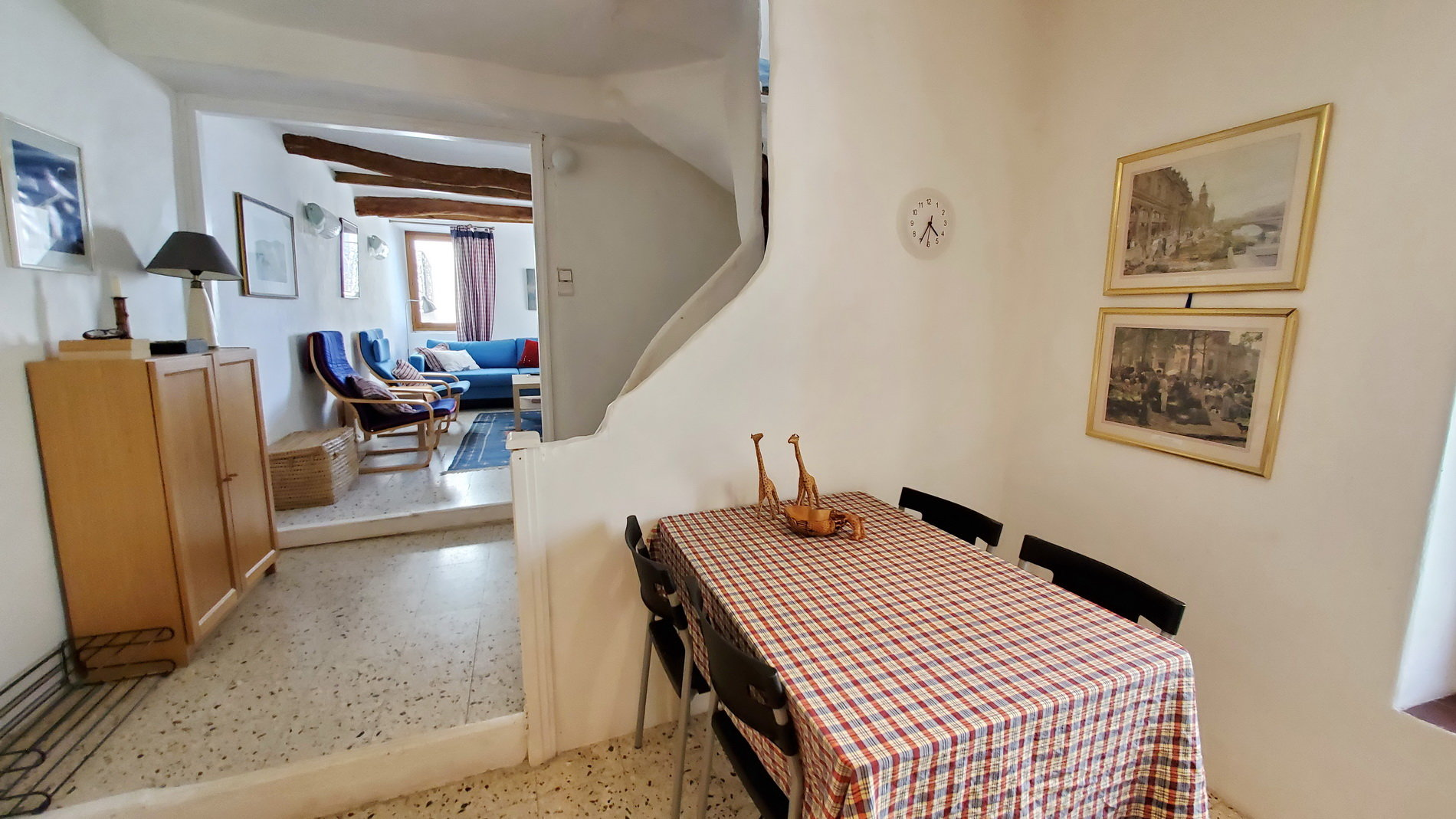 Charming village house with 3 bedrooms and a sunny terrace