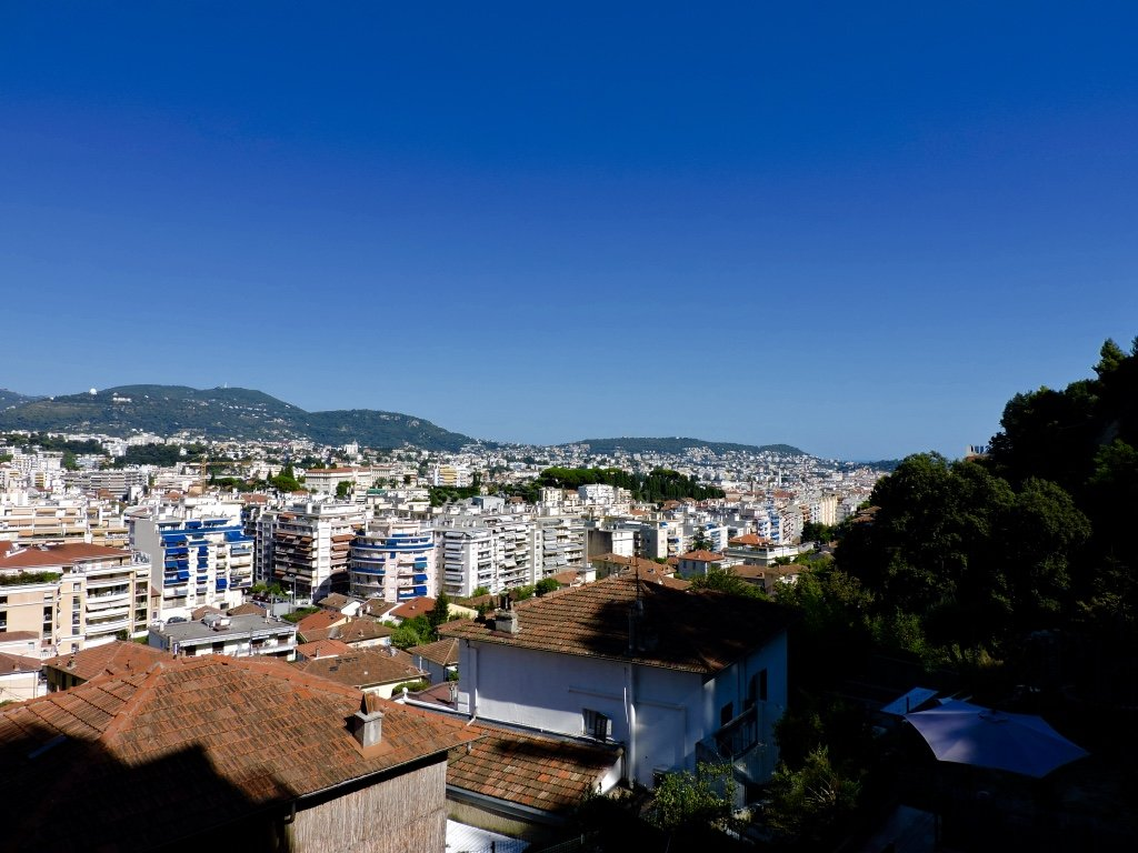 NICE NORD/GOIRAN, Grand 5p à rénover, vue panoramique