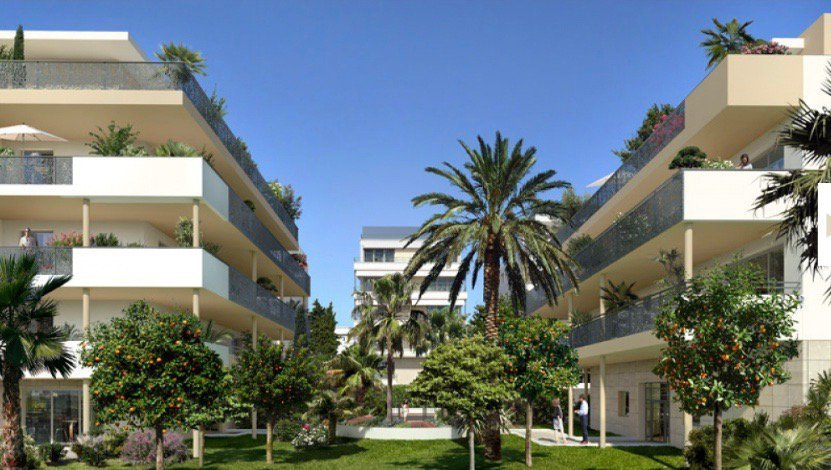 CANNES - French Riviera - Luxury 1 Bed apartment near beaches and Croisette