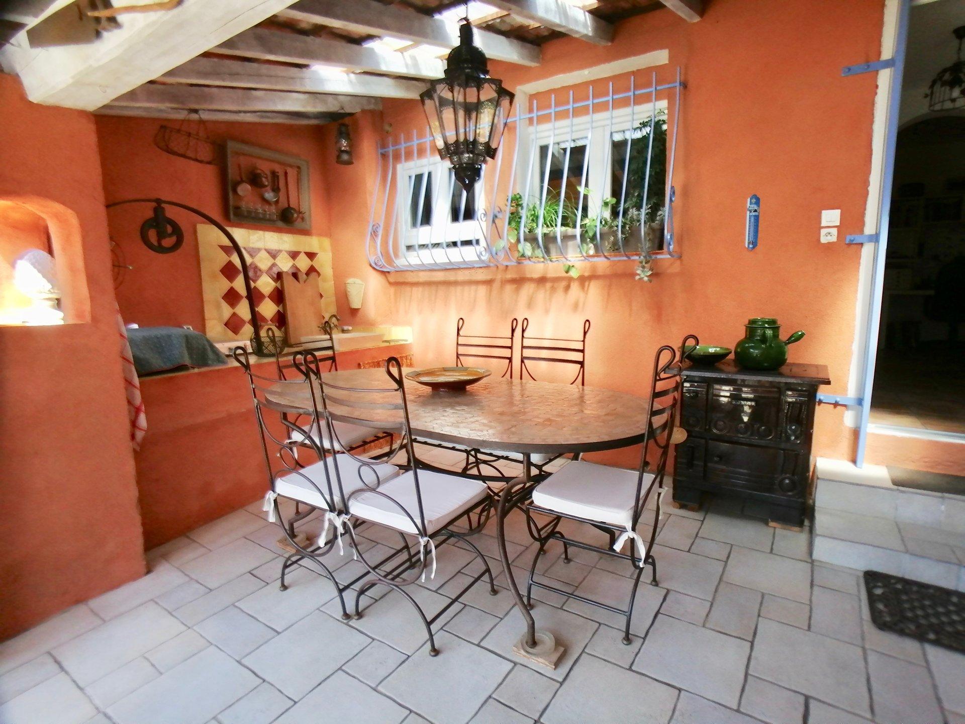 Maison plain-pied atypique + garage