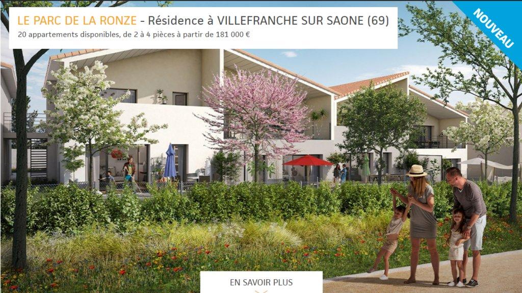 A SAISIR PROGRAMME NEUF DU T2 au T4 avec terrasses