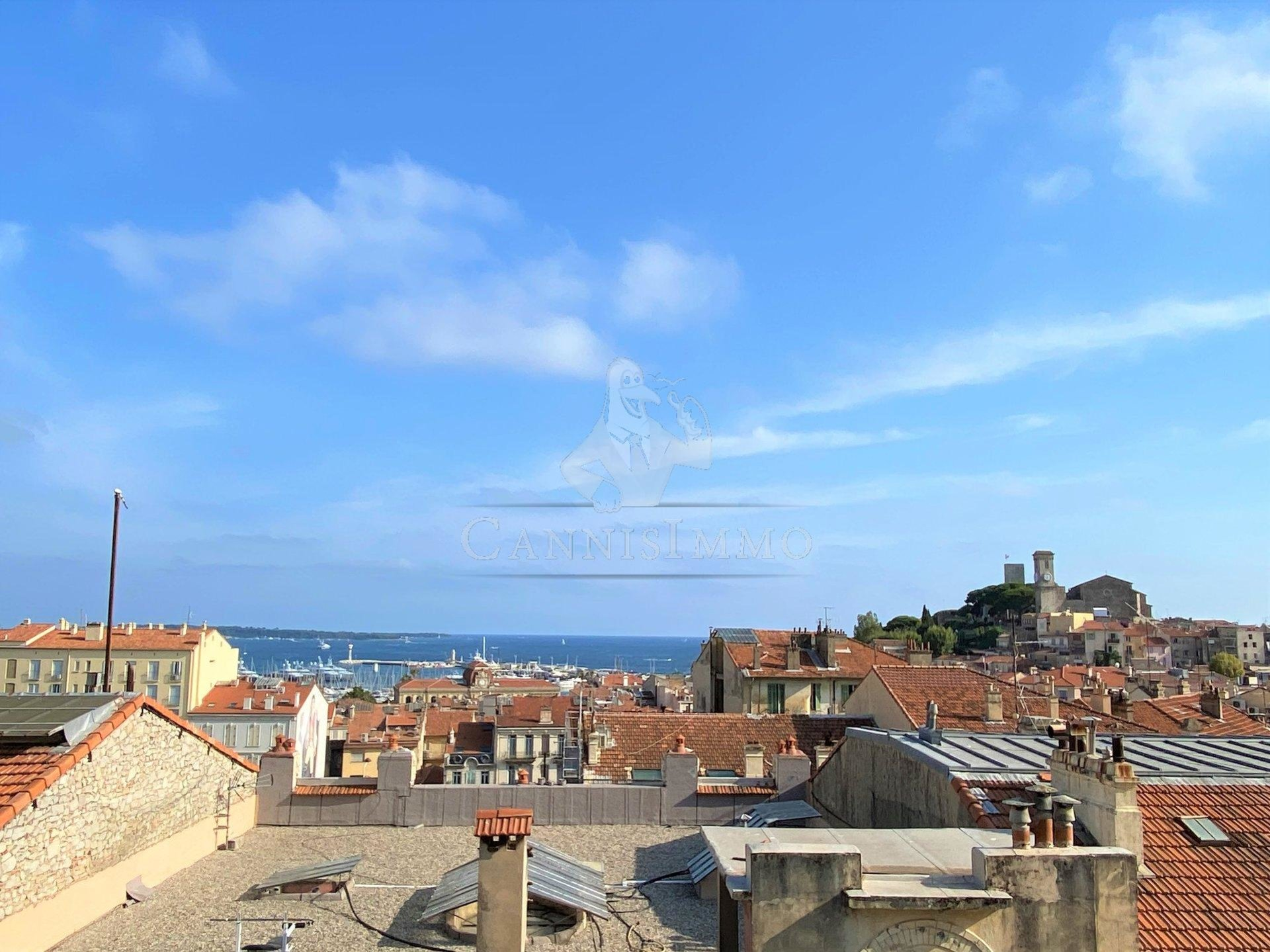 CANNES FORVILLE VUE MER 2 PIECES