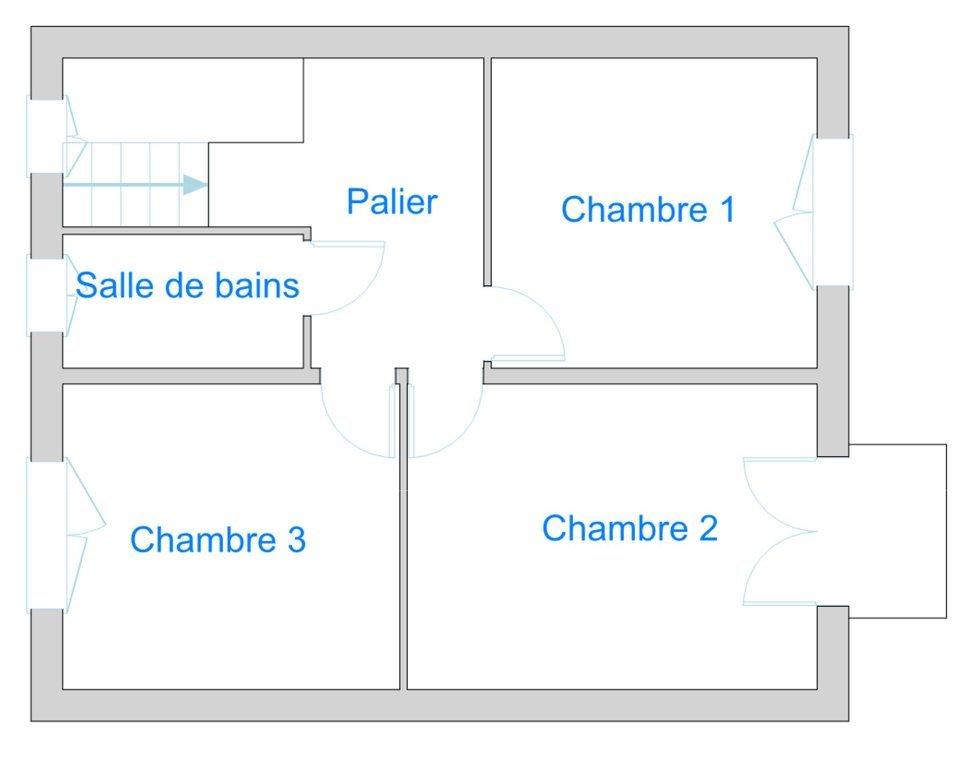 3 CHAMBRES JARDIN GARAGE