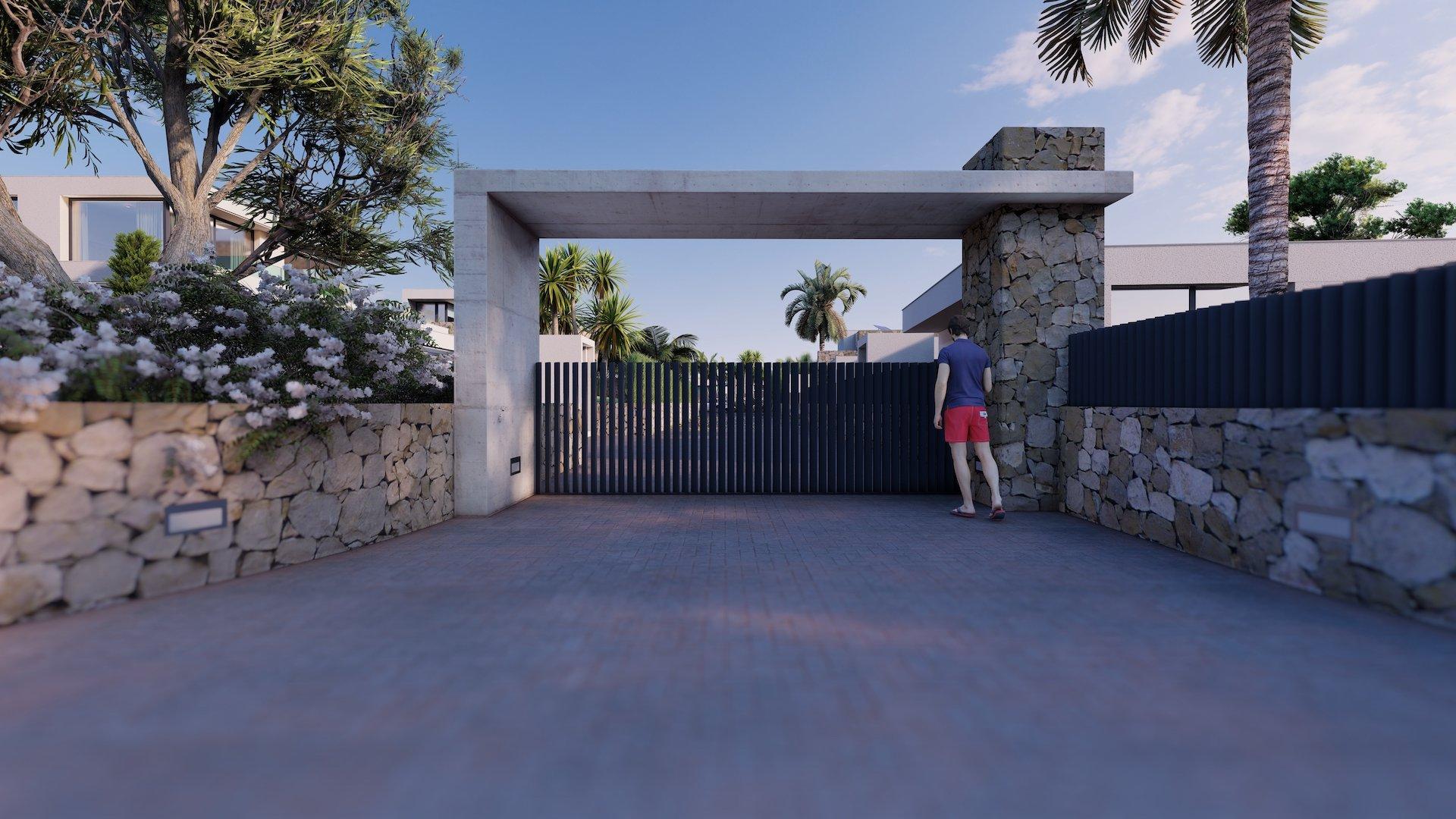 Nueva promoción de 6 villas en Moraira