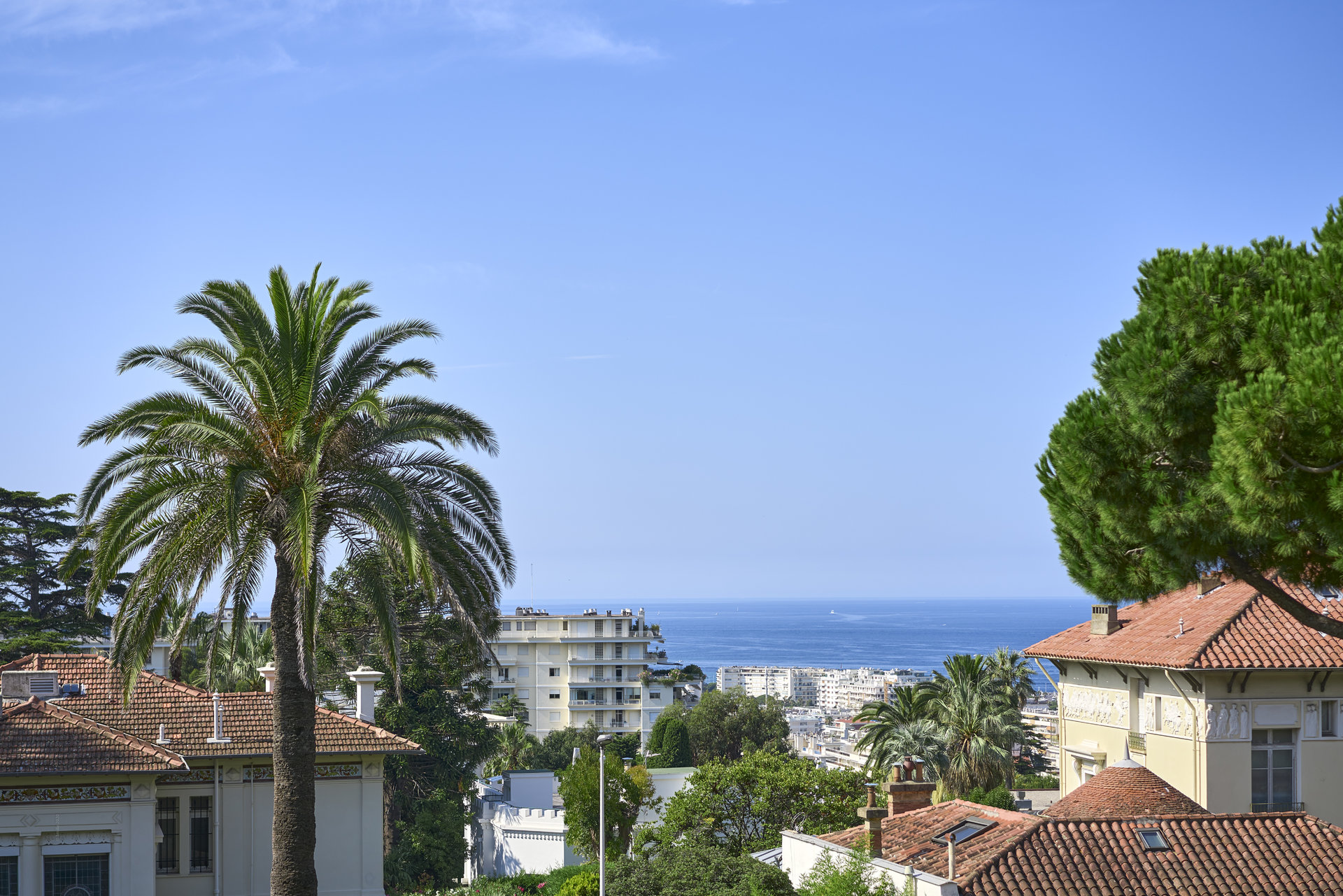 Cannes Californie Superb 2-bedroom apartment Terrace Sea view