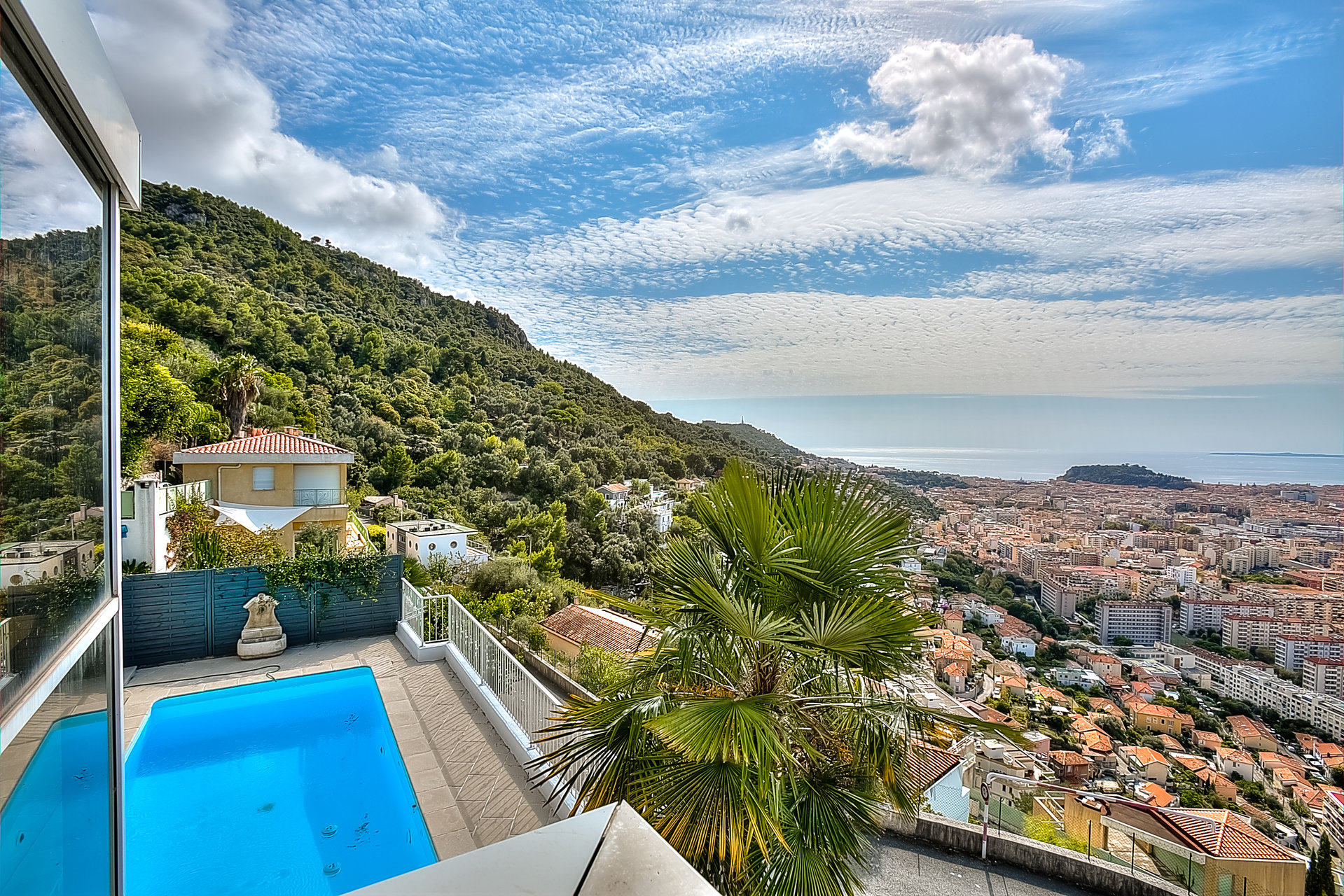 Villa Vinaigrier vue Mer Piscine