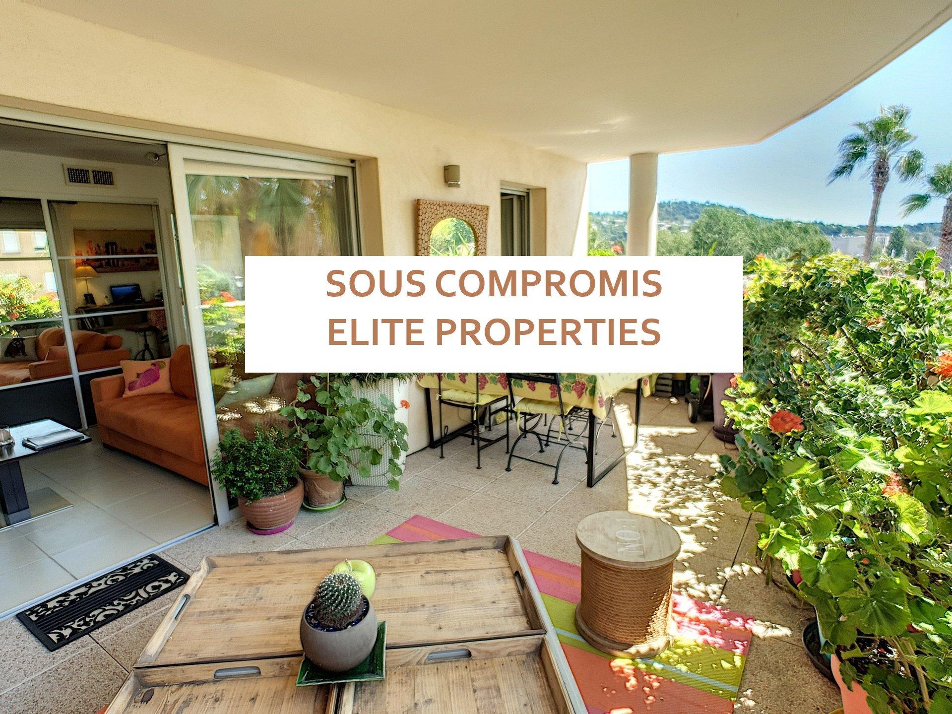 Achat/vente Appartement 2P+ 20m2 Terrasse avec garage à Cannes- la- bocca
