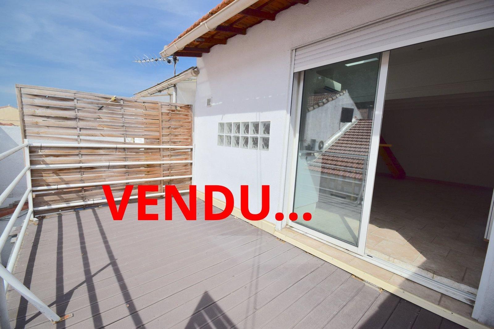 MAISON DE VILLE T4 CAPELETTE/PONT DE VIVAUX MARSEILLE 1301O