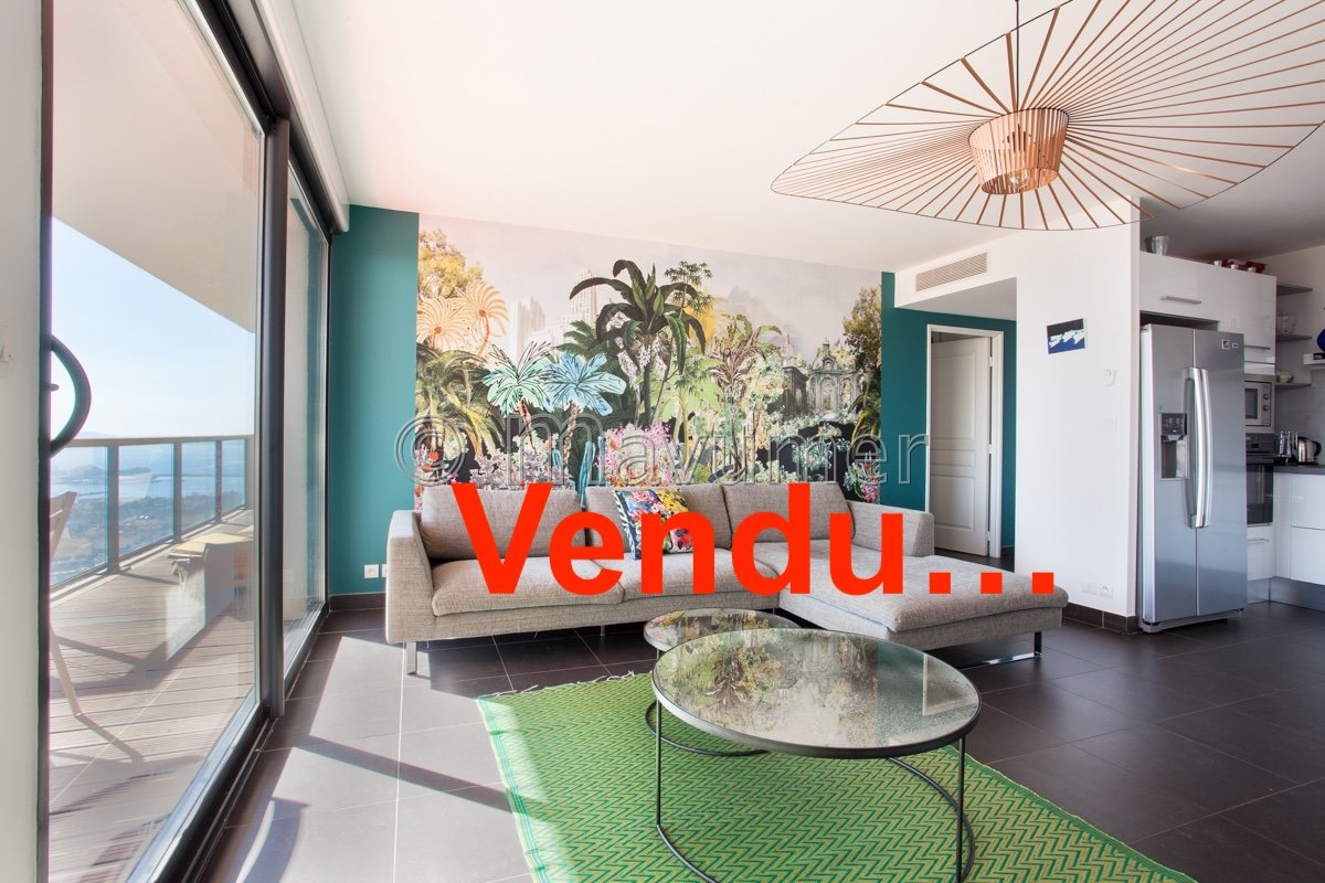 Appartement T3 vue mer 13016 Marseille L'Estaque / Grand Baie