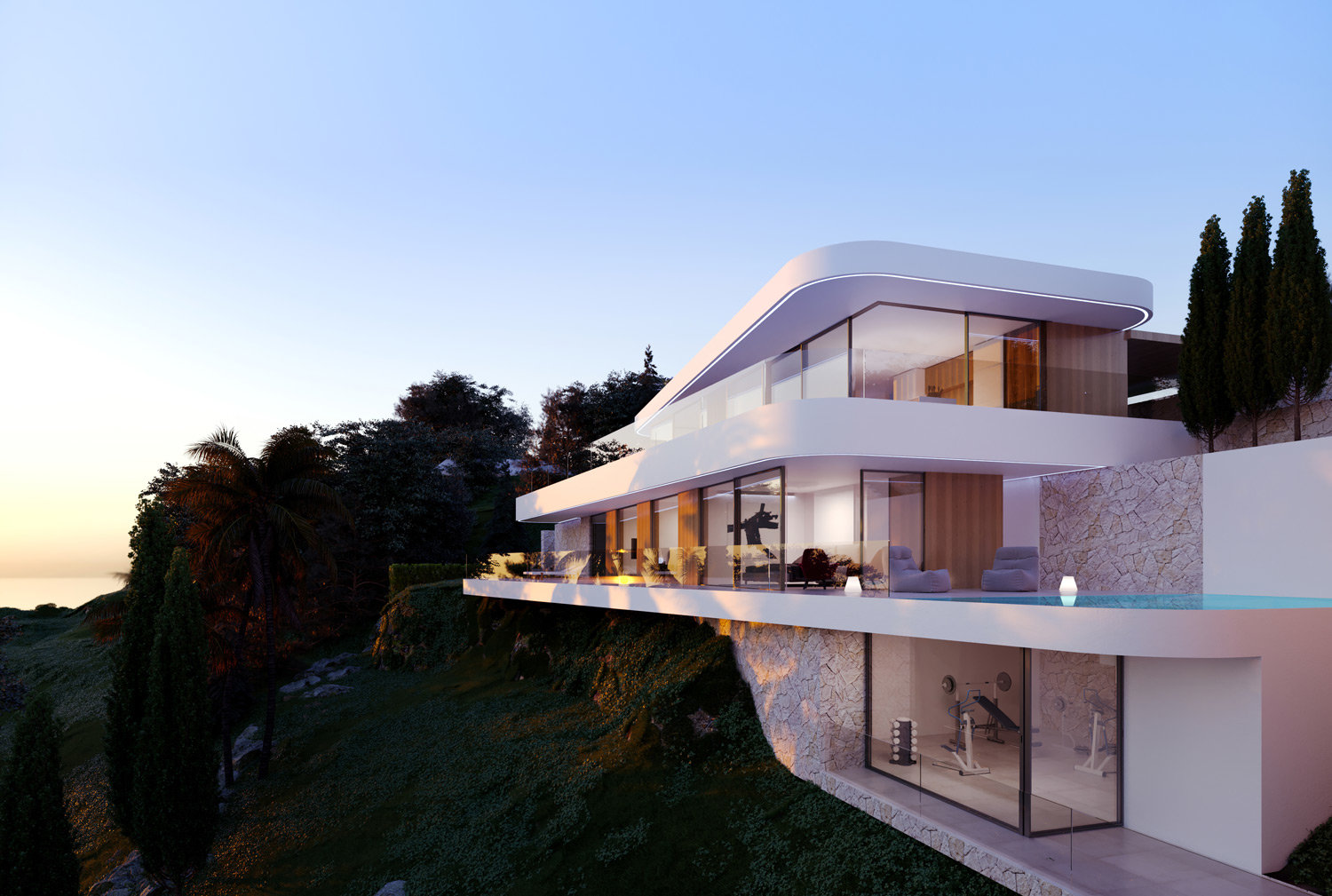 New built exclusive project in Moraira