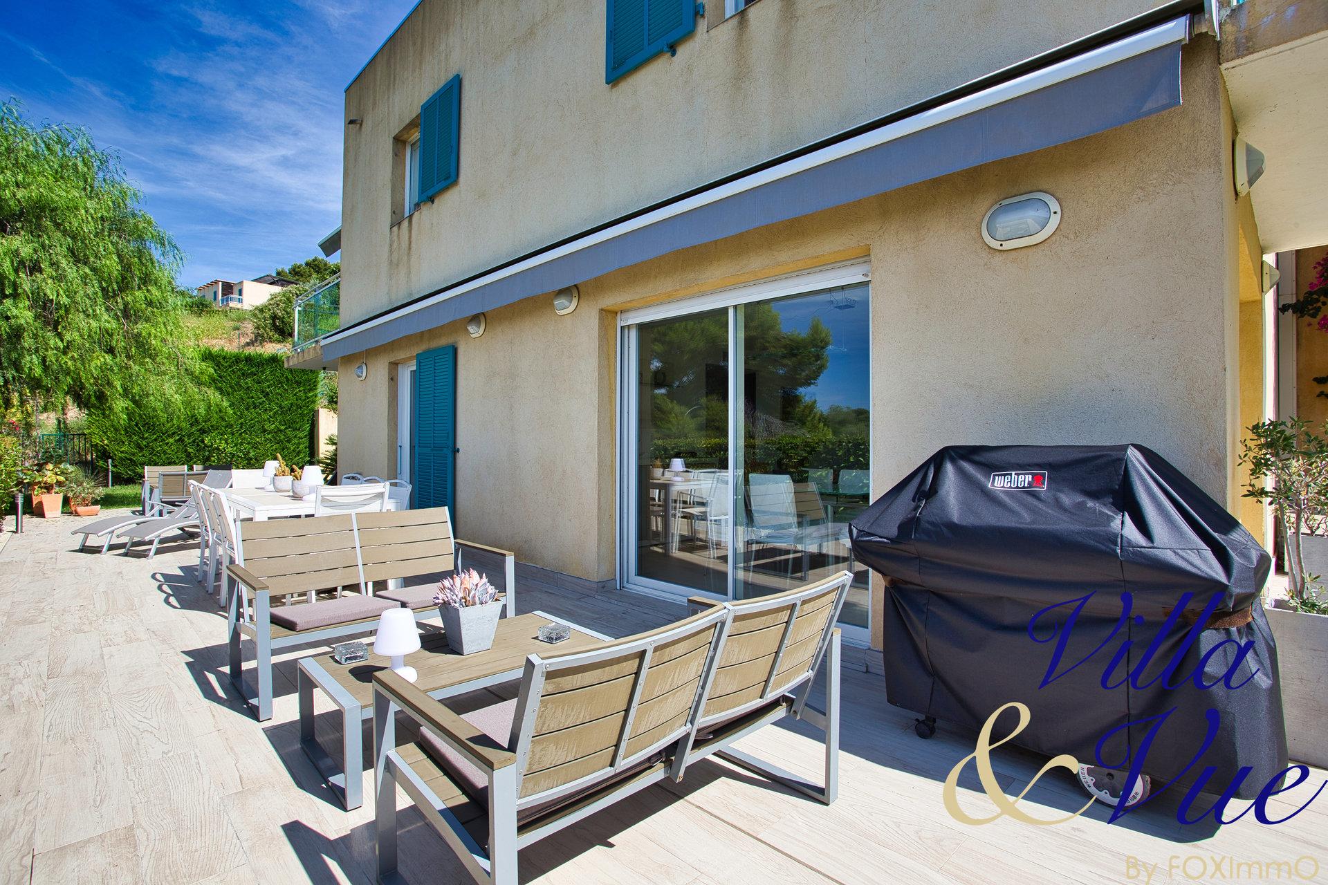 Maison 5P -Cagnes -Val Fleuri - Vue mer - Calme