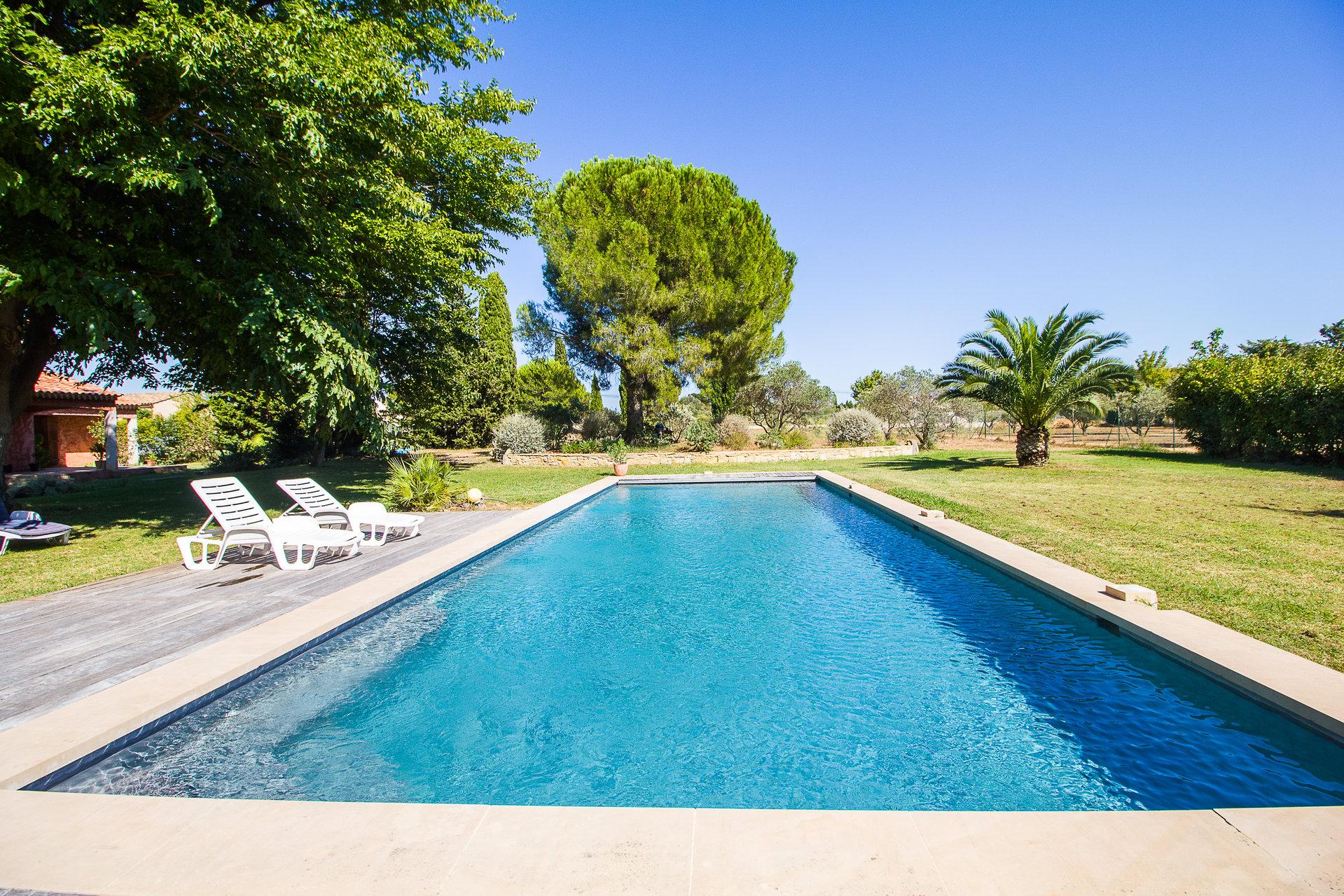 Pont-de-Crau - Maison avec jardin arboré et piscine
