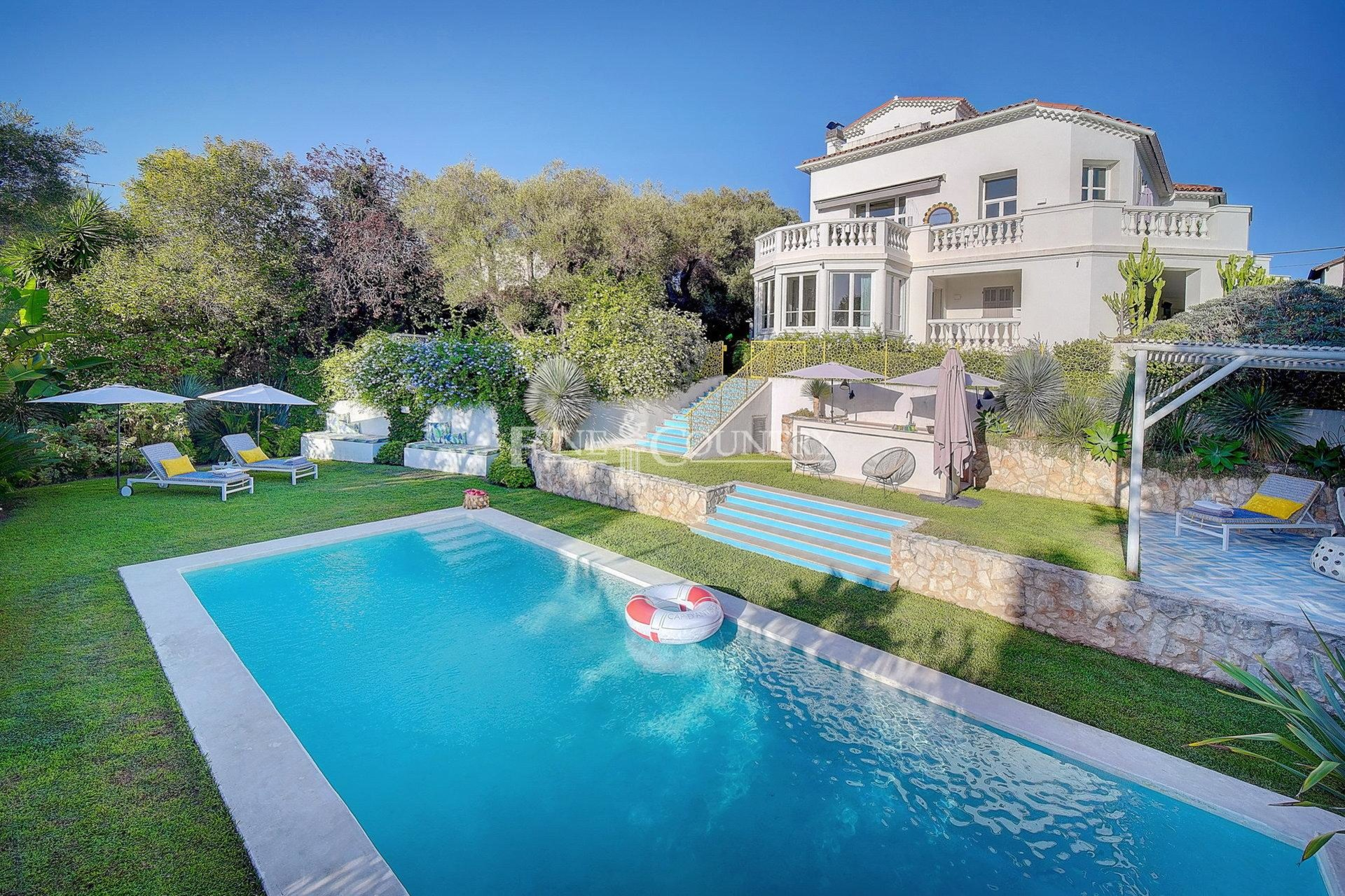 Belle Epoque Villa for sale on the Cap d'Antibes