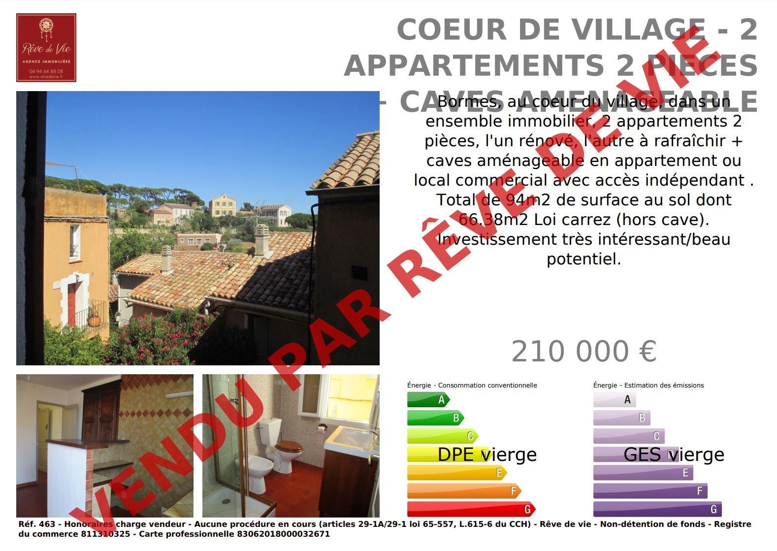 Sale Housing estate Bormes-les-Mimosas