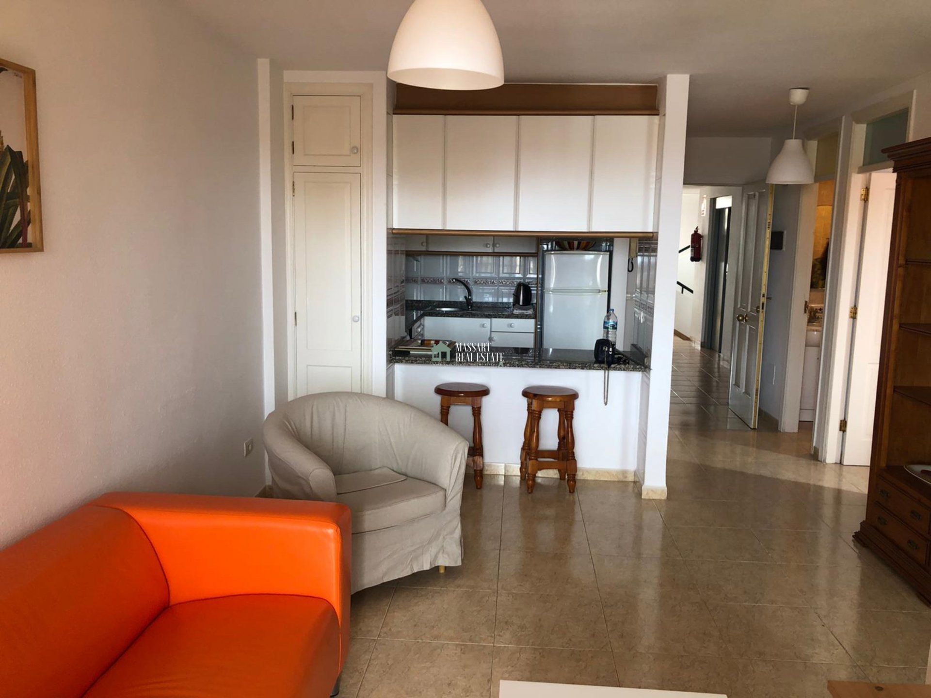 Cozy apartment for rent in Callao Salvaje, in the residential complex Sunset View.