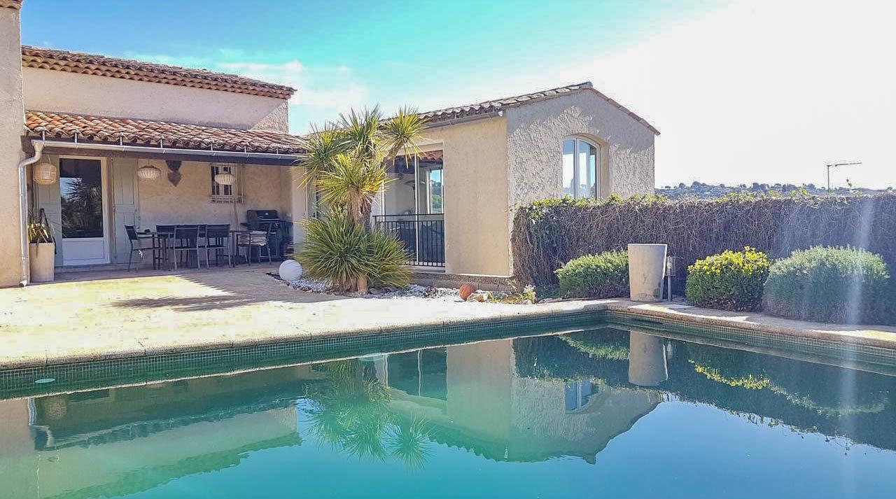 Villa med pool - La colle sur Loup