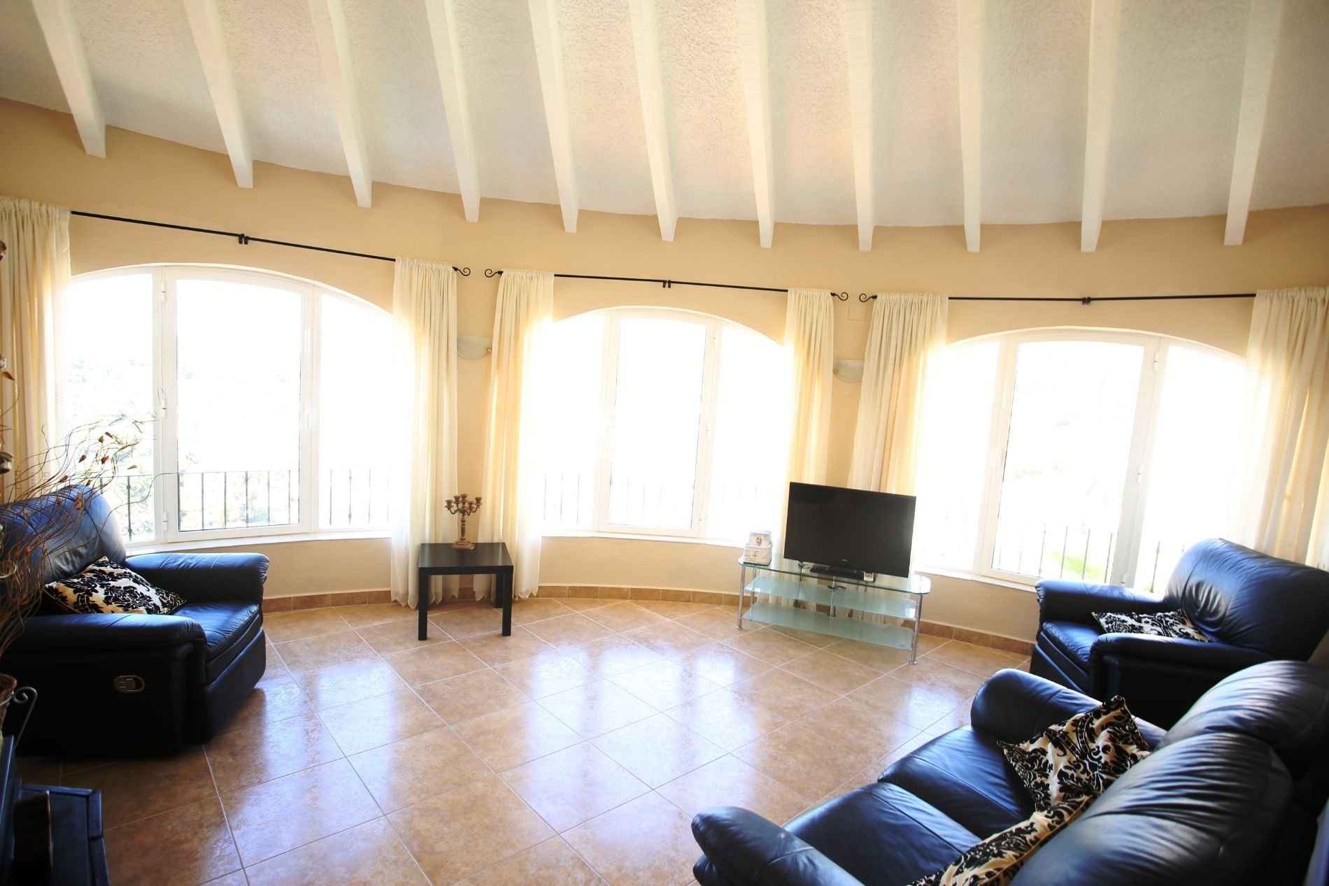 Large spacious villa with panoramic views