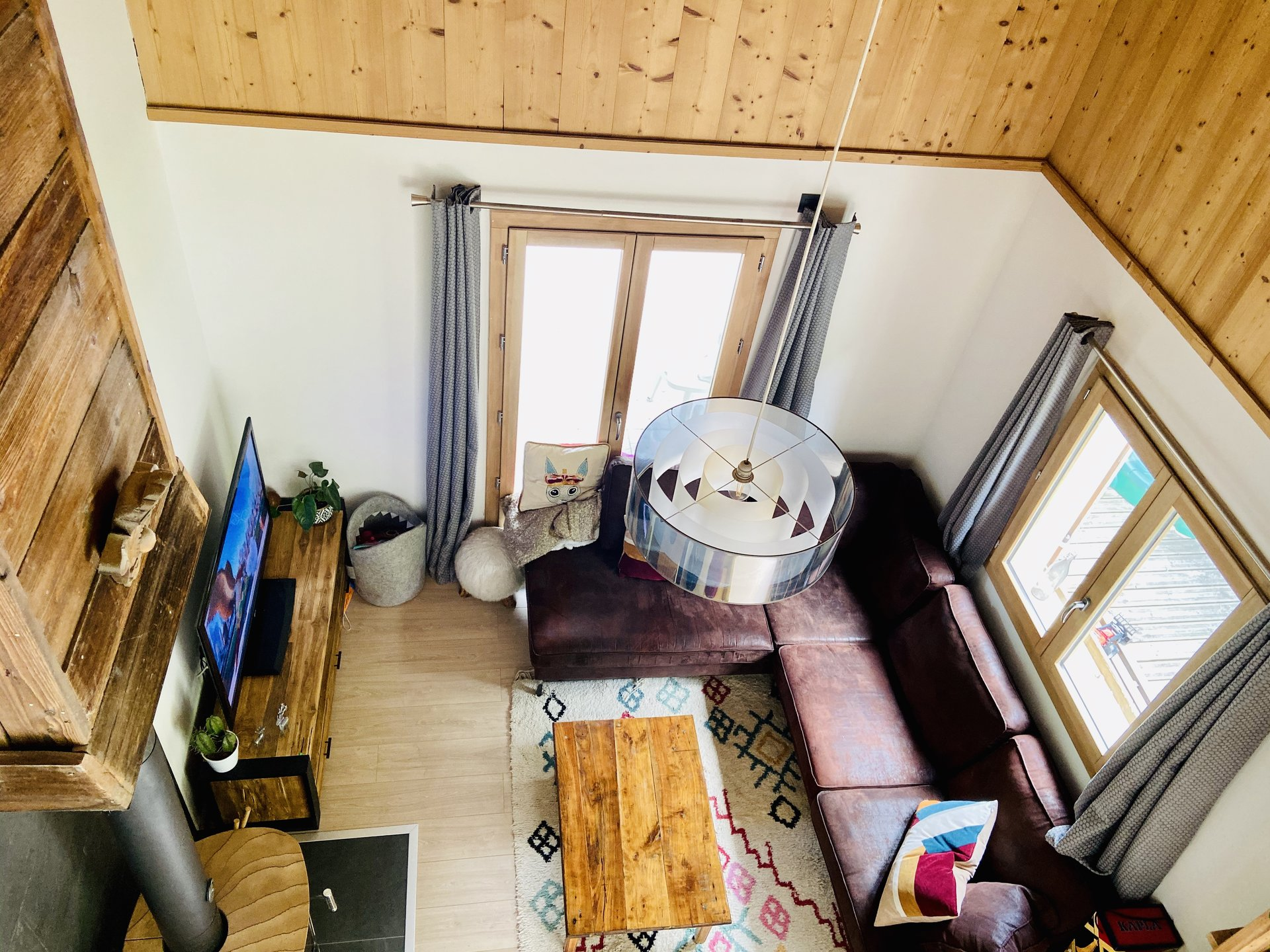 Charming three bedroom chalet in Servoz