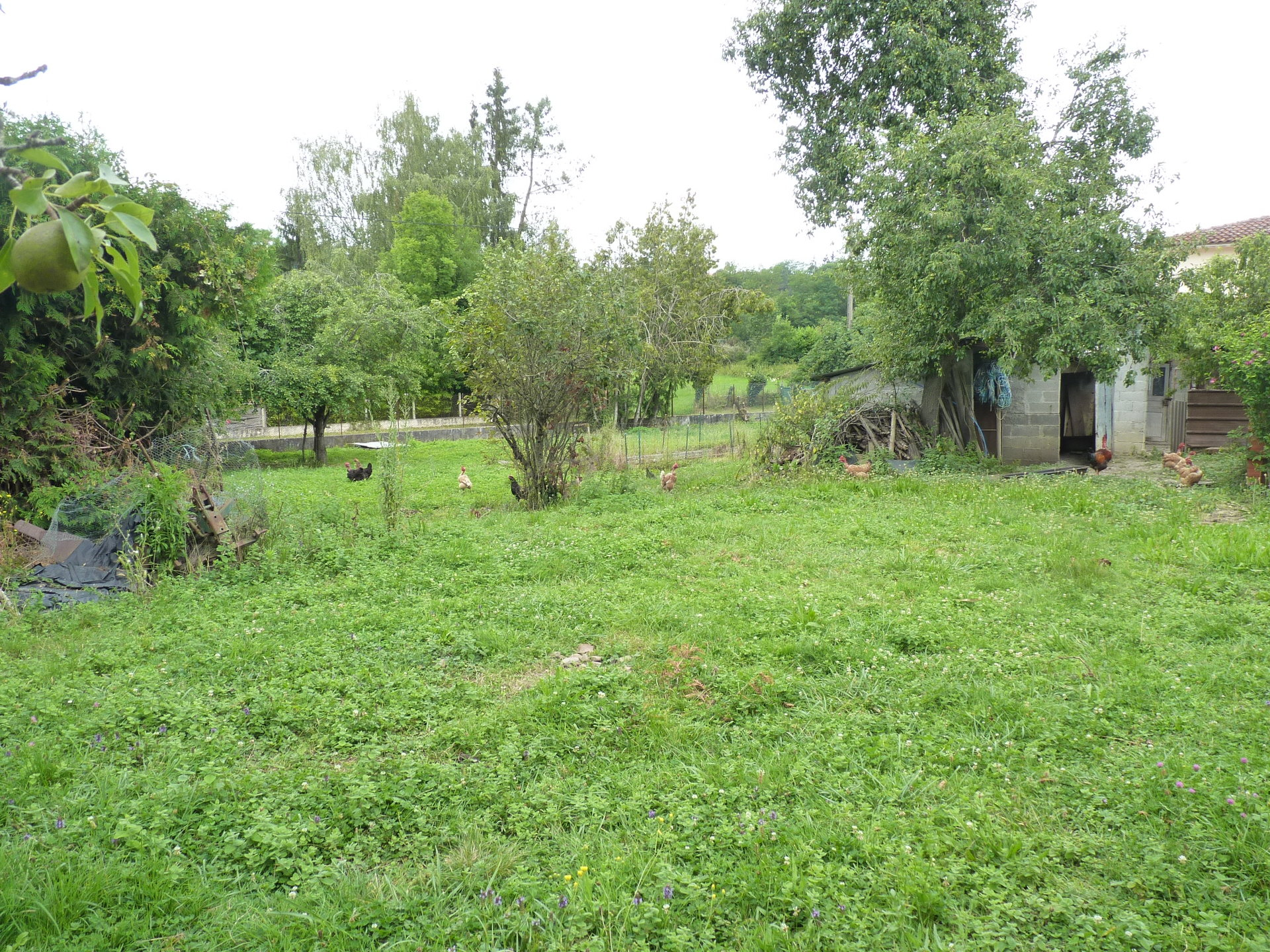 10 minutes from Aurignac, house with apartment on 1900 m² of building land