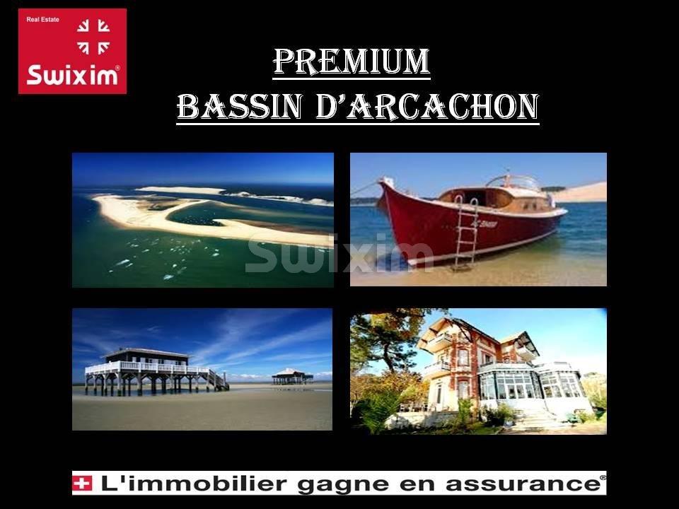AU C¼UR D'ARCACHON, MAGNIFIQUE APPARTEMENT T3