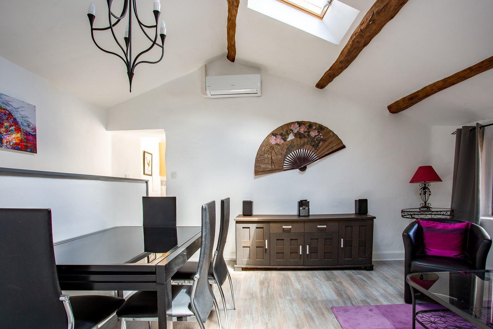 Maison de village en parfait état avec terrasse