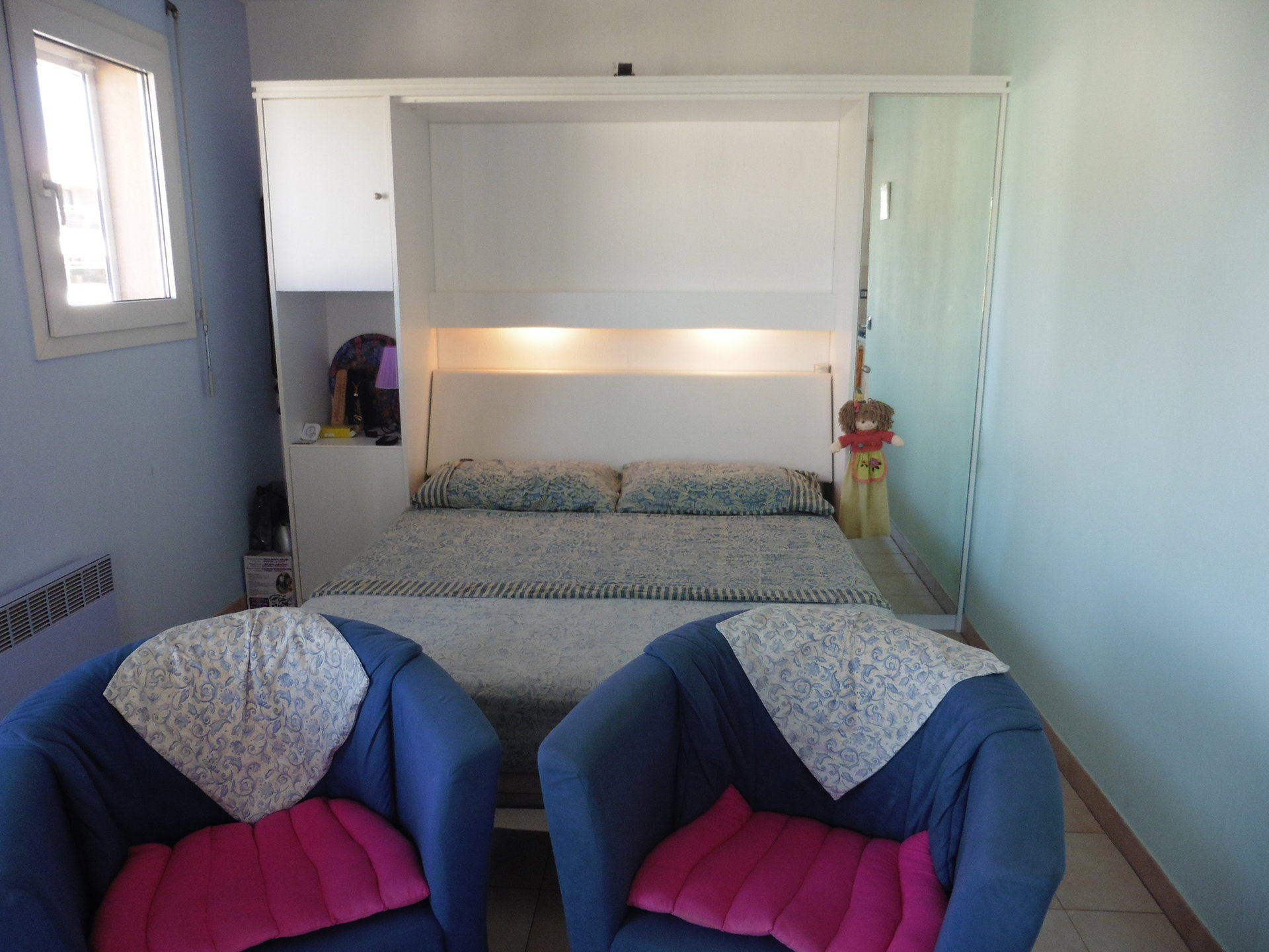 STUDIO  Dernière étage avec 2 terrasse .