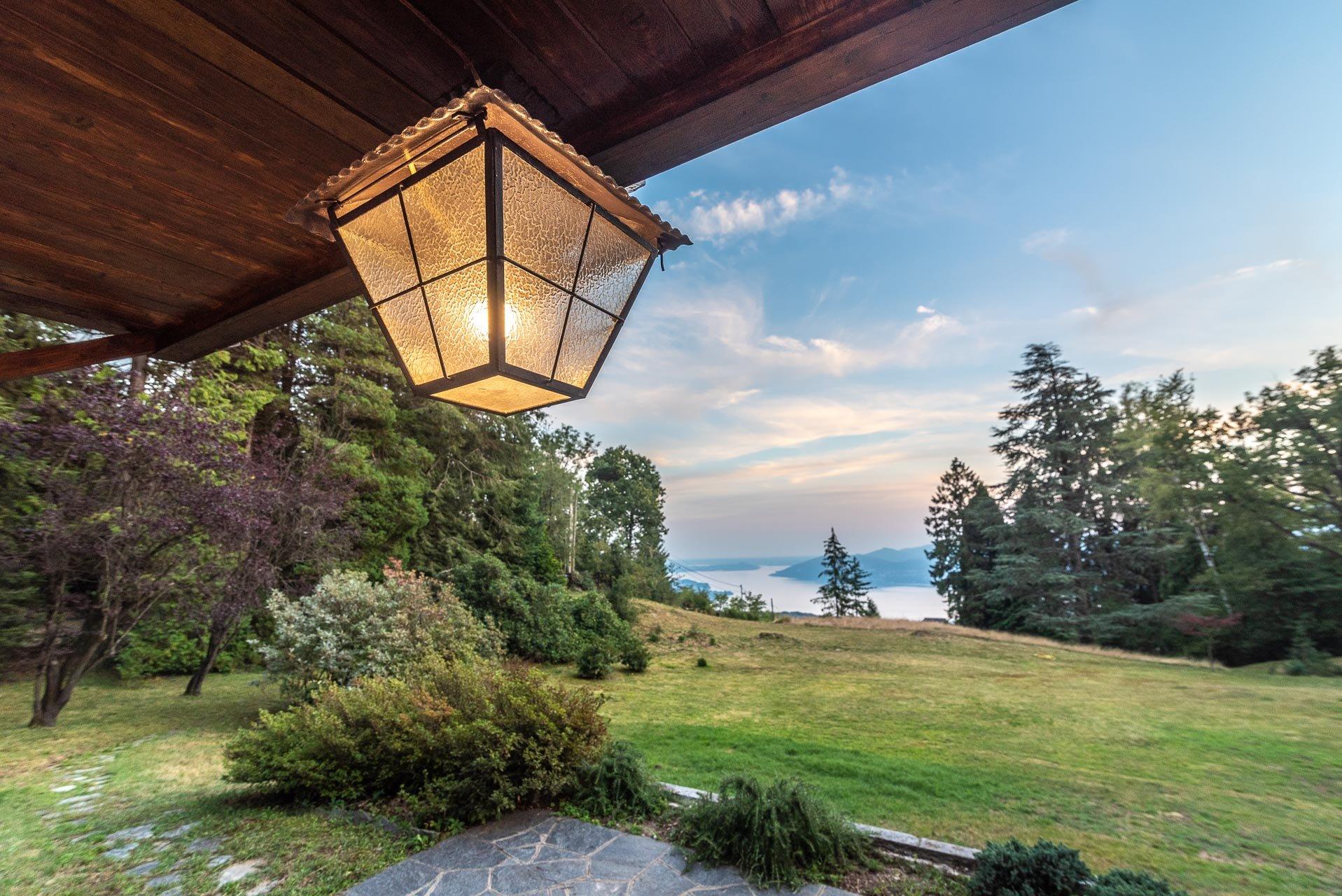 Villa for sale in Premeno of the arch. Marco Zanuso - external view