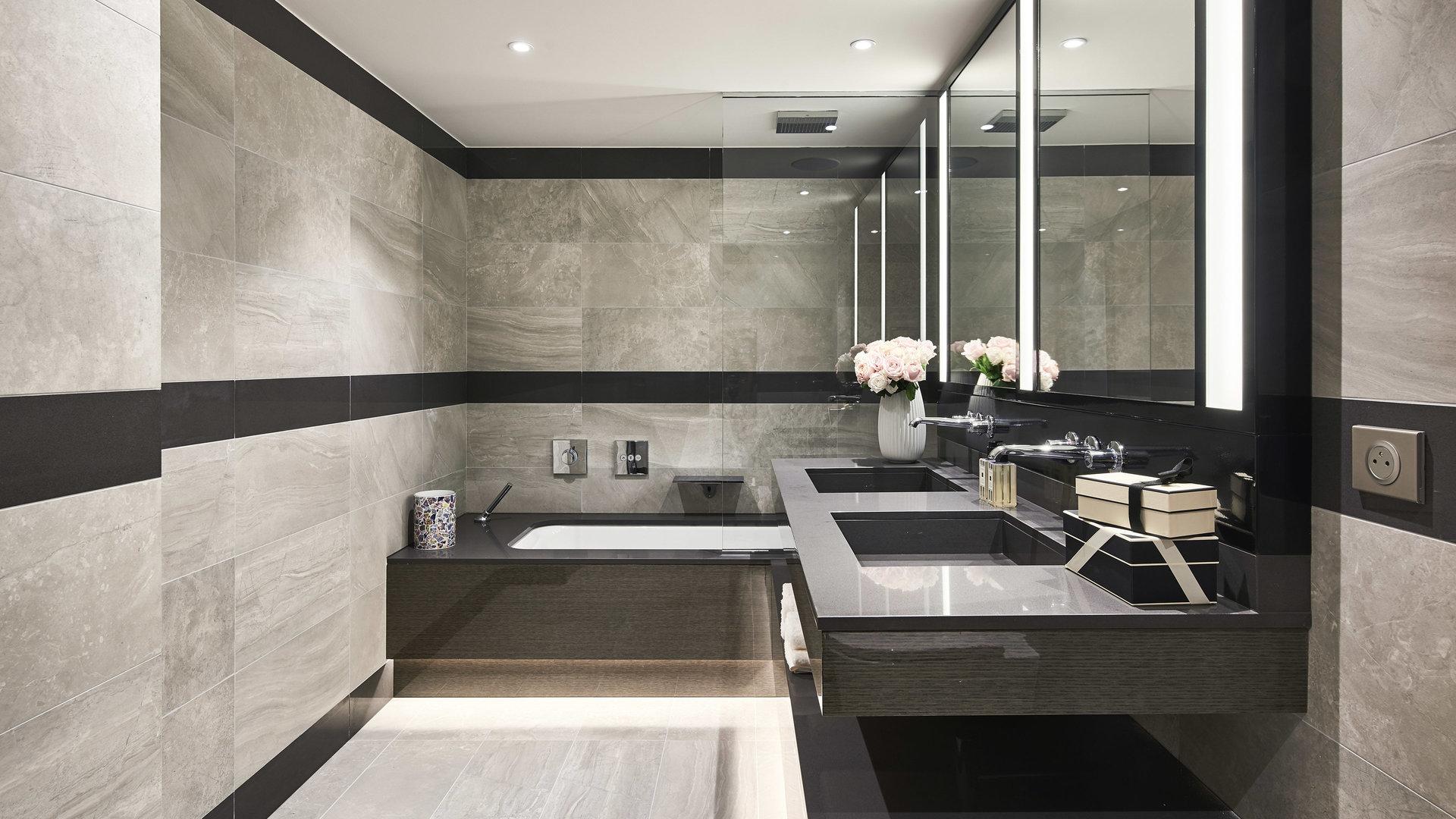 Cap d'Antibes -  Lekker ny 3-roms 90m2 leilighet med terrasse og have i eksepsjonell residens