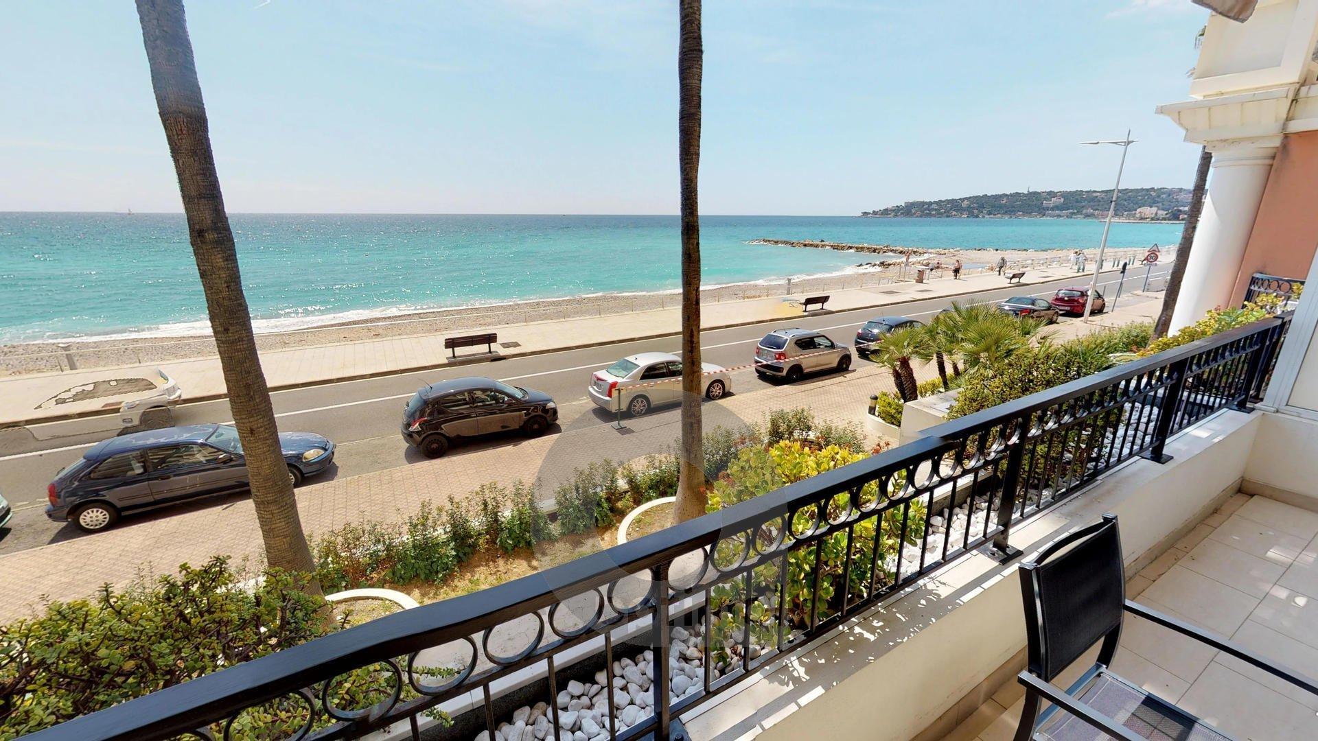 Beau 3P face mer avec terrasse et parking