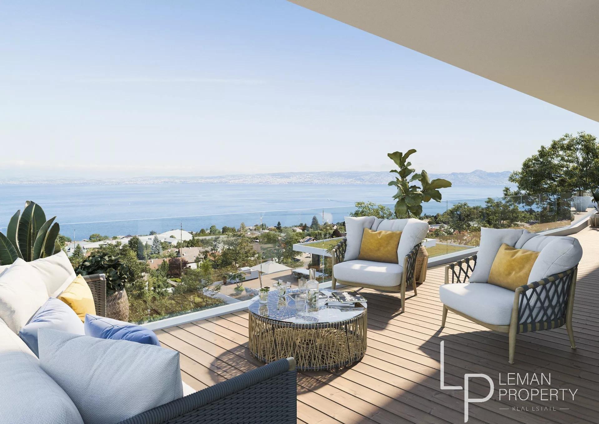 Vente de appartement à Évian-les-Bains au prix de 532700€