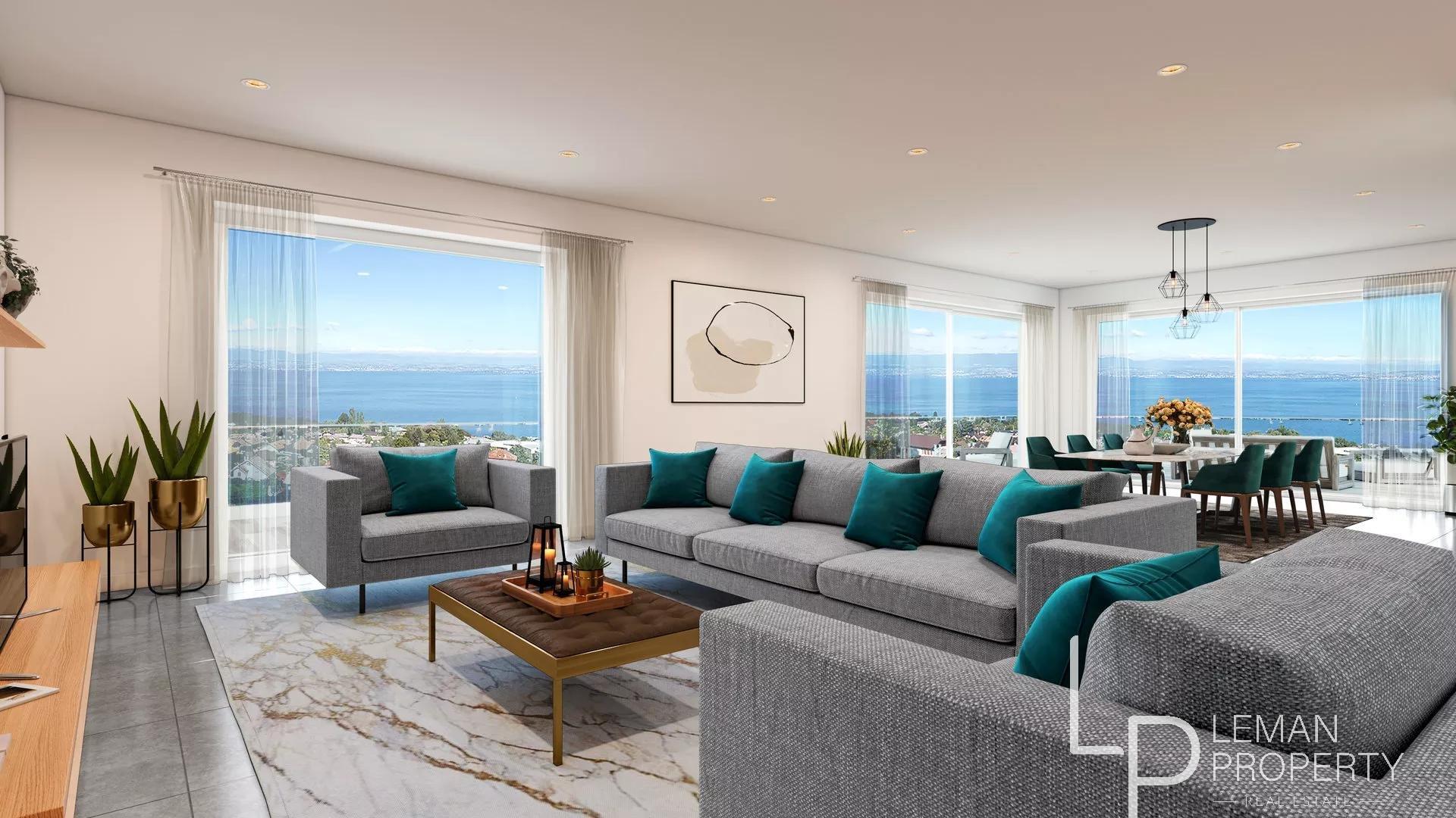 Vente de appartement à Évian-les-Bains au prix de 465700€
