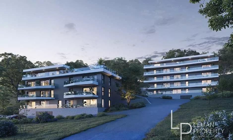 Appartement 5 pièces - Vue Lac - Evian les Bains