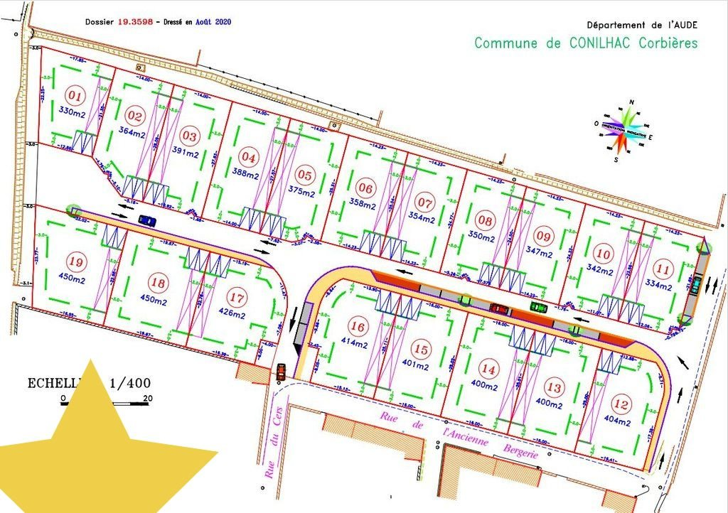 Sale Building land Conilhac-Corbières