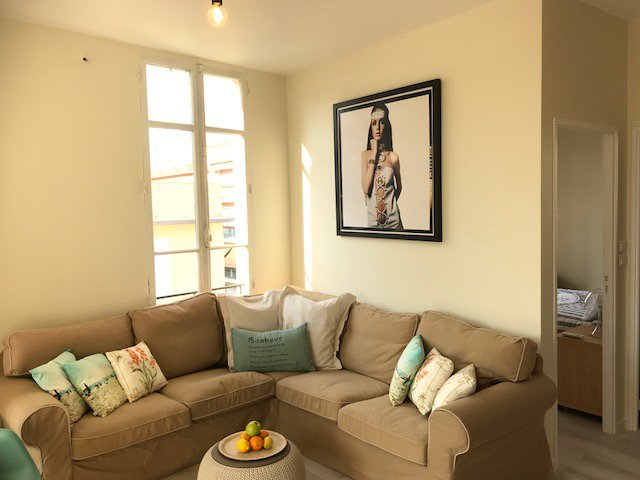 CL3-2 Bedroom Apartment on TOP FLOOR in Antibes
