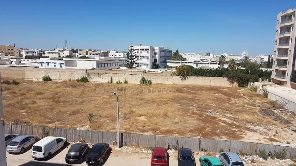 2 terrains constructible R+8 a cité jawhra Sousse