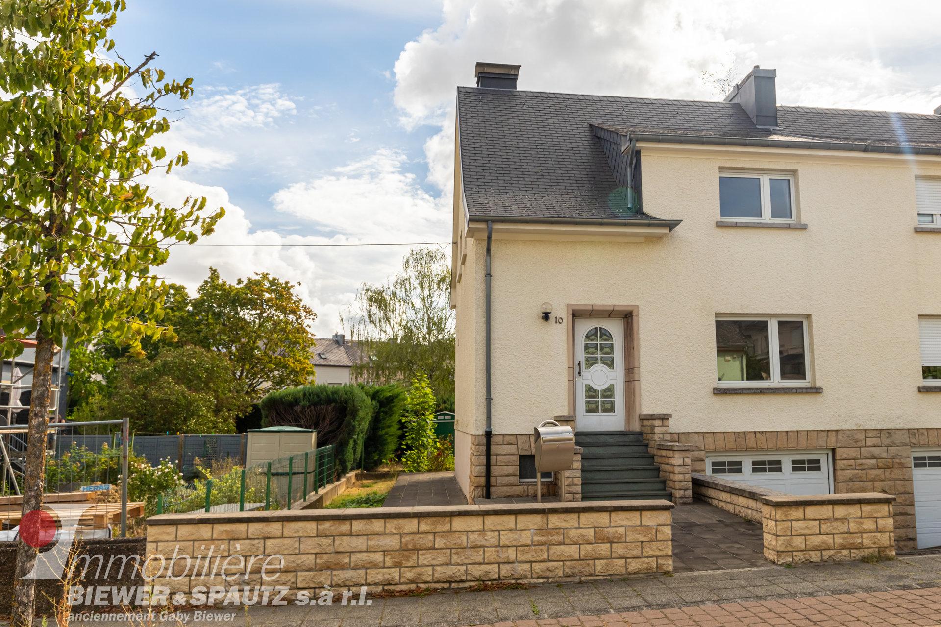 UNDER SALES AGREEMENT - semi-detached house with 2 bedrooms in Esch-sur-Alzette
