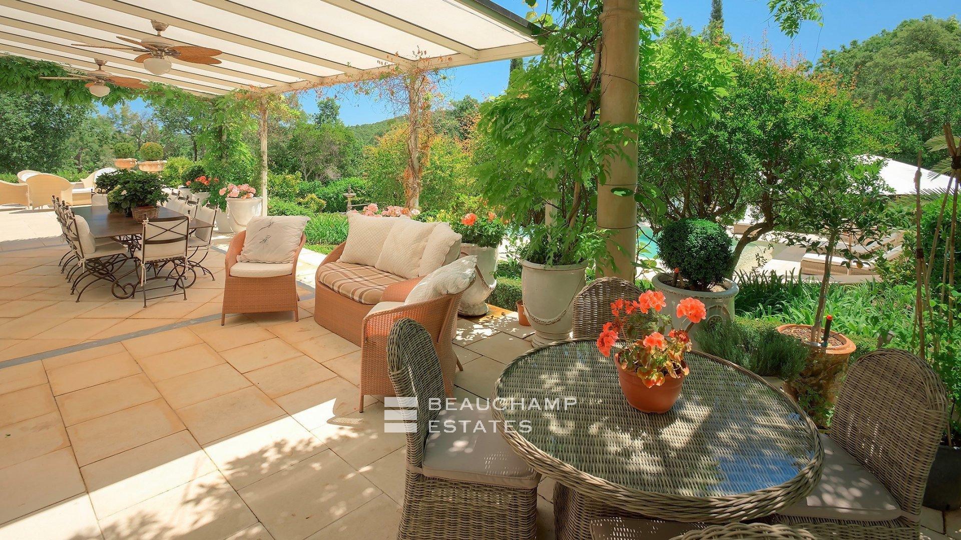 Charmante Villa 4 Chambres Provençale Gassin