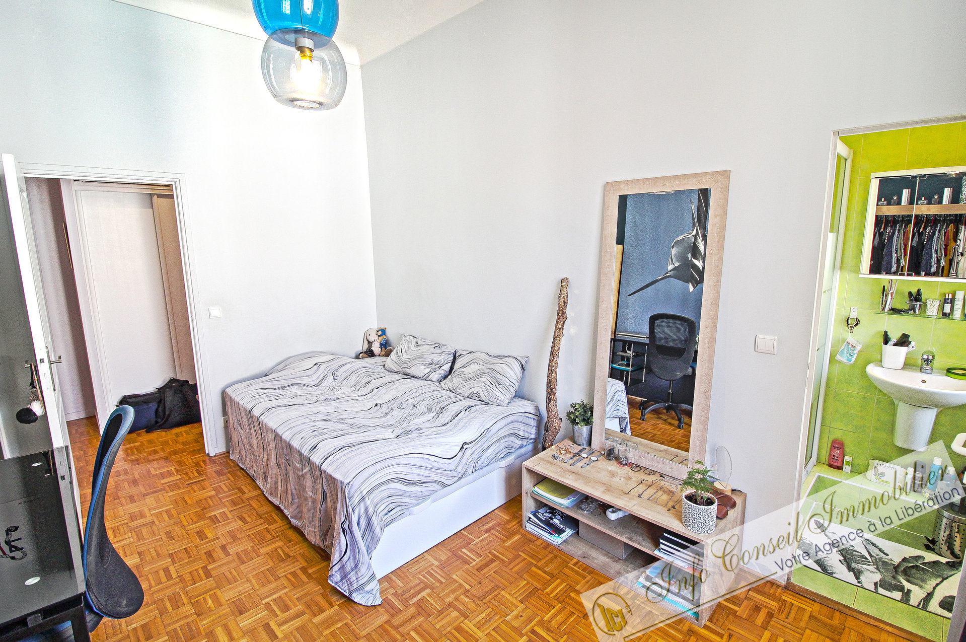 LIBERATION - 4P 100 m² - Parfait état - Balcon - 420.000 €